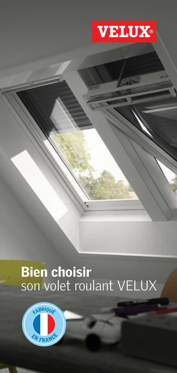 calam o bien choisir son volet roulant velux. Black Bedroom Furniture Sets. Home Design Ideas