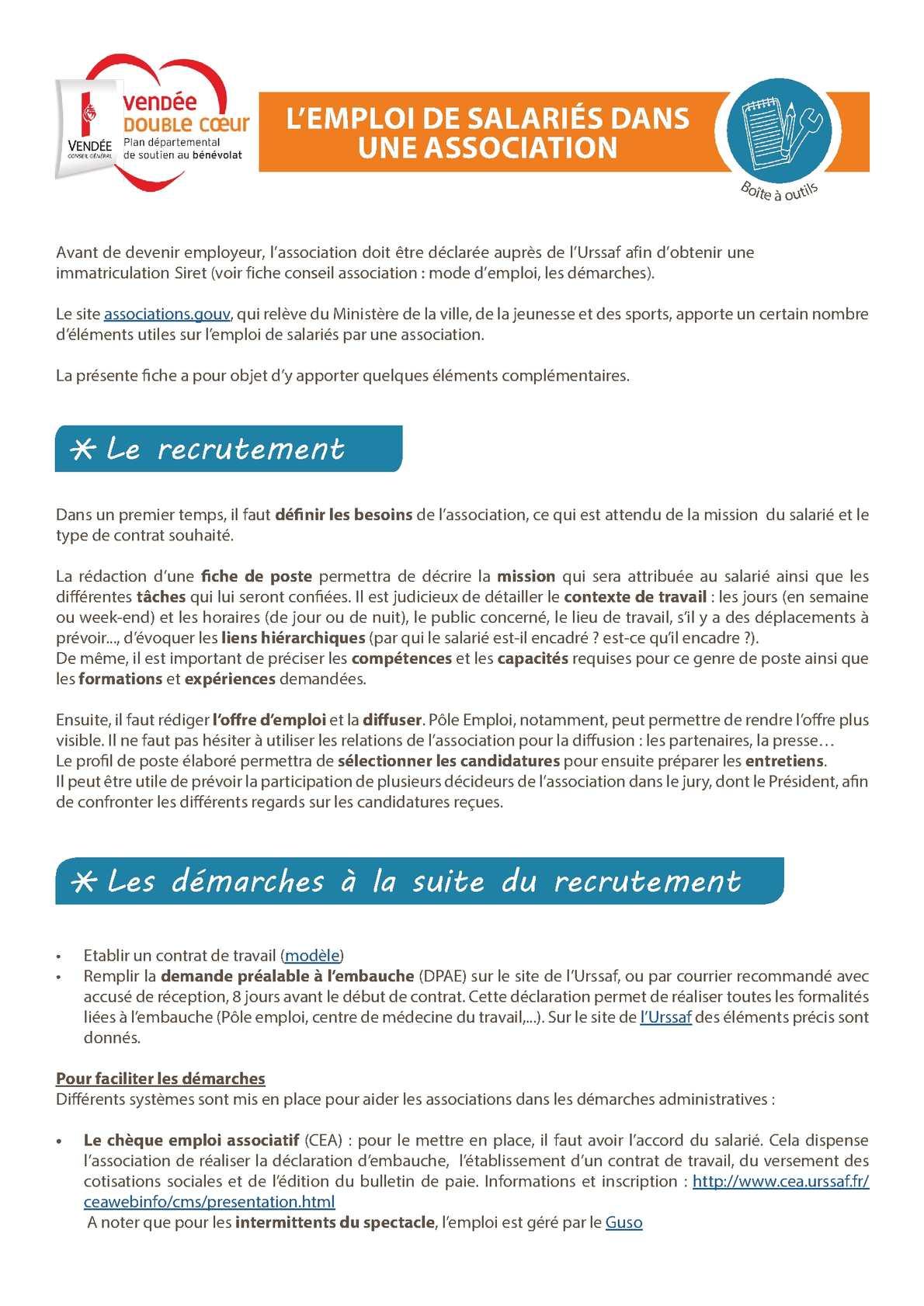 Calameo 6b L Emploi De Salaries Dans Une Association2