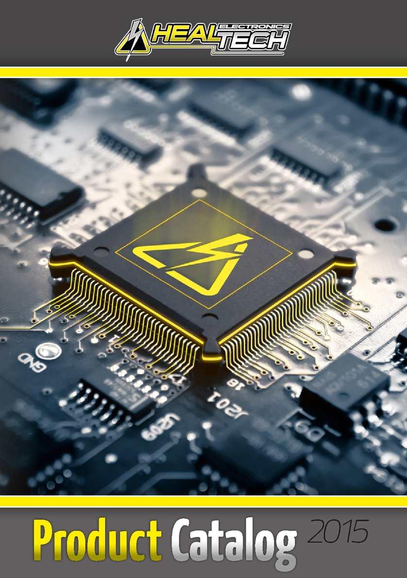 Calaméo - HealTech Electronics Product Catalog 2015