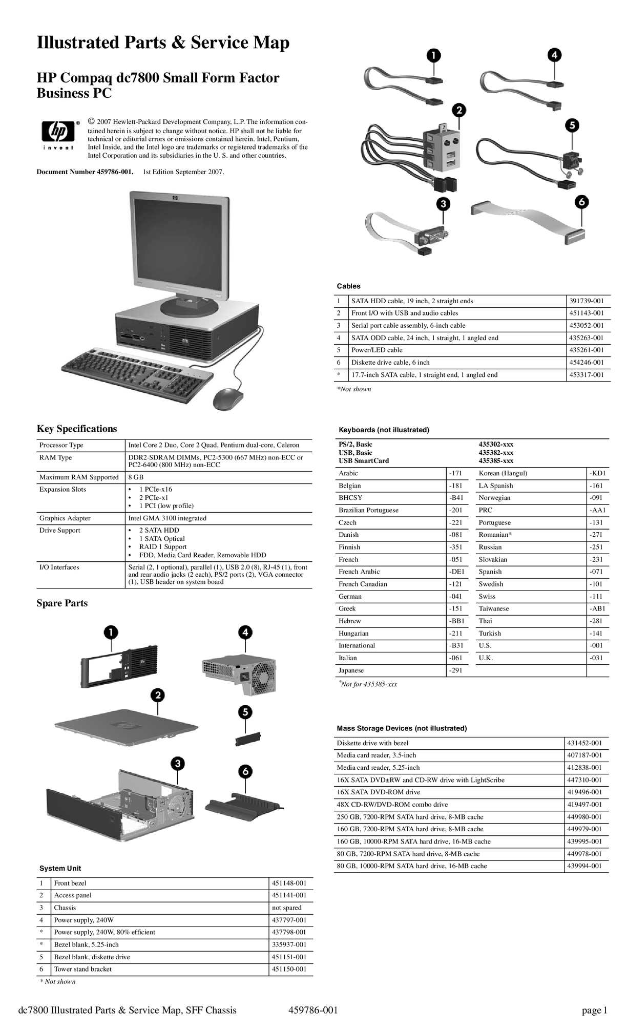 DRIVER HP FACTOR FORM AUDIO COMPAQ DC7800 SMALL TÉLÉCHARGER