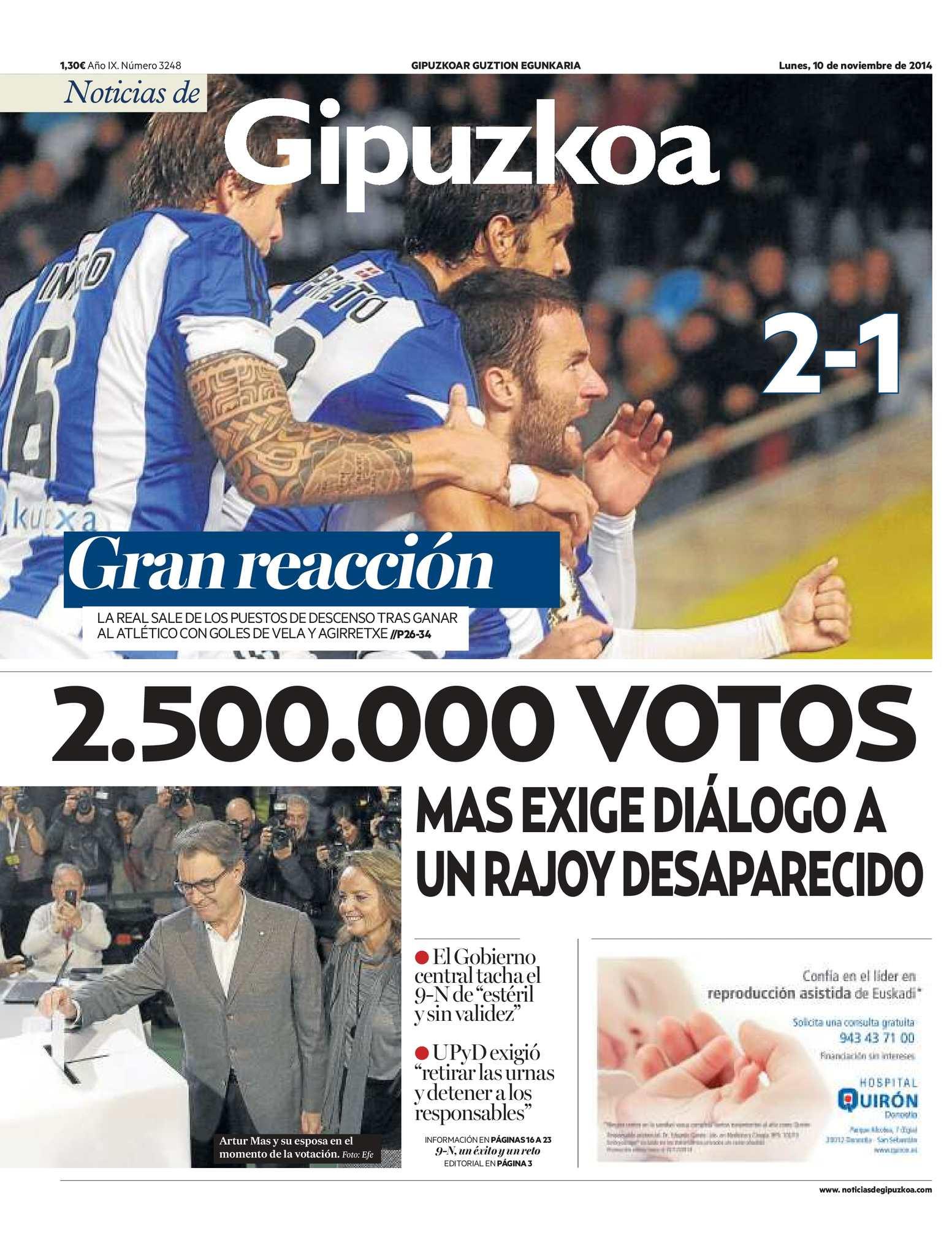 Calaméo - Noticias de Gipuzkoa 20141110