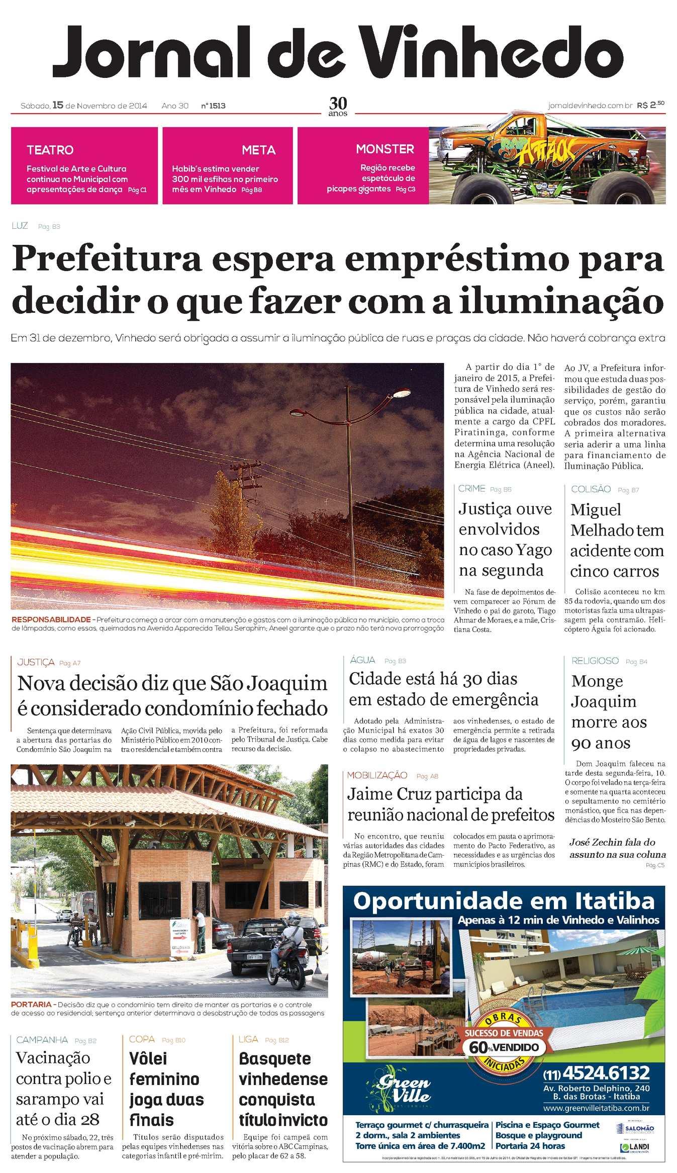 f3a5e54629e1d Calaméo - Jornal De Vinhedo Sábado, 15 De Novembro De 2014 Edic 1513 Ok