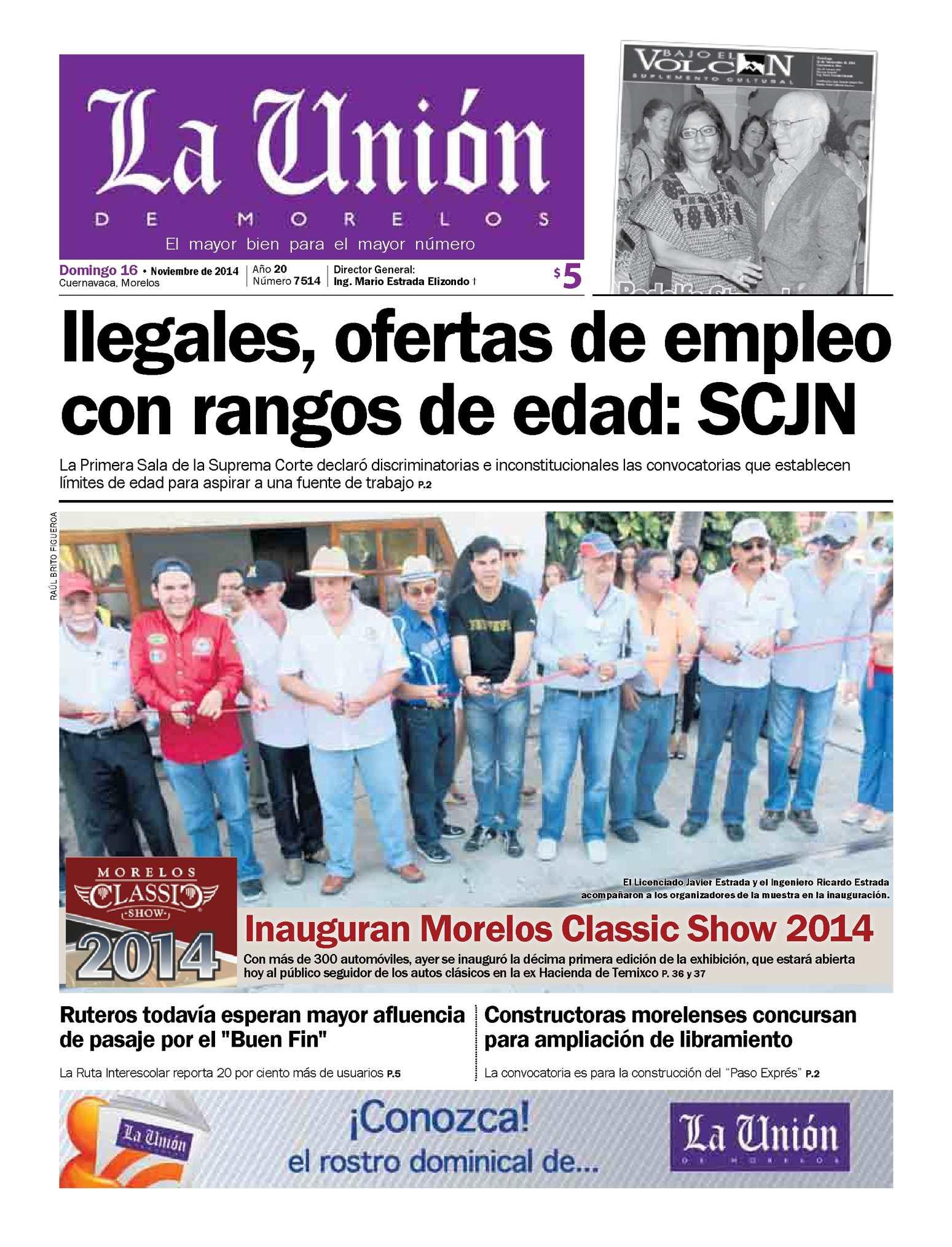 La Unión de Morelos 16 Noviembre 2014