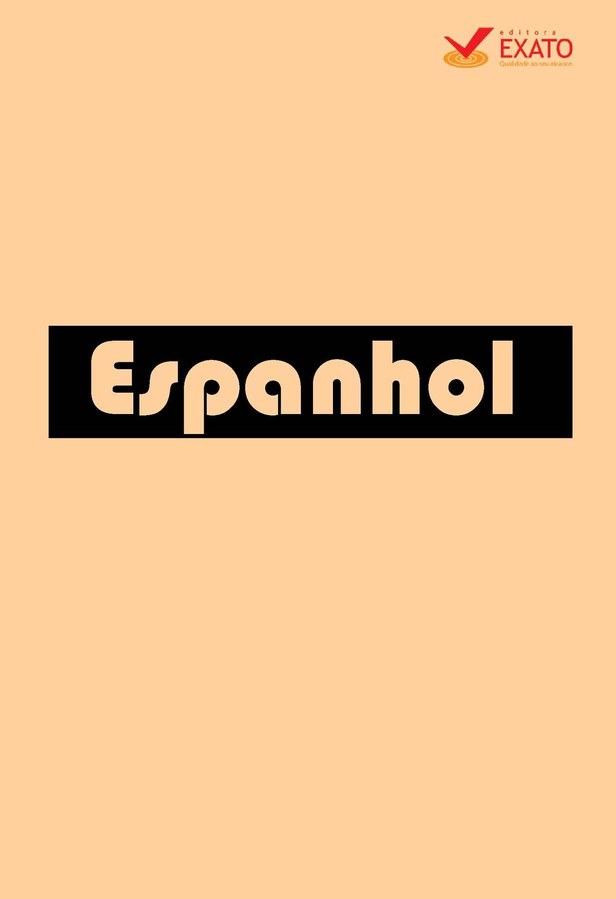 Calaméo Apostila De Espanhol Completa
