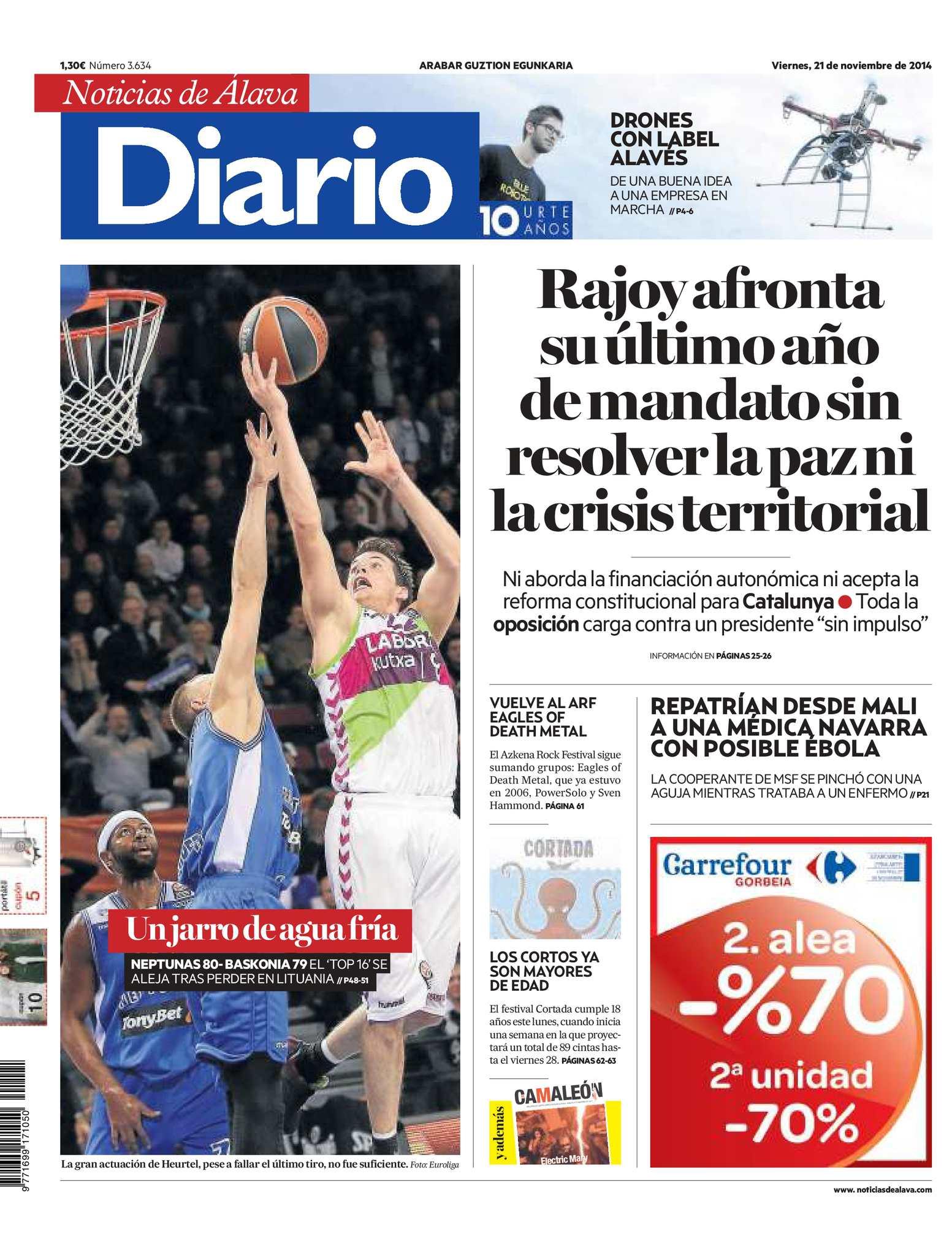 Calaméo Noticias 20141121 De Diario Álava 3L4RAj5