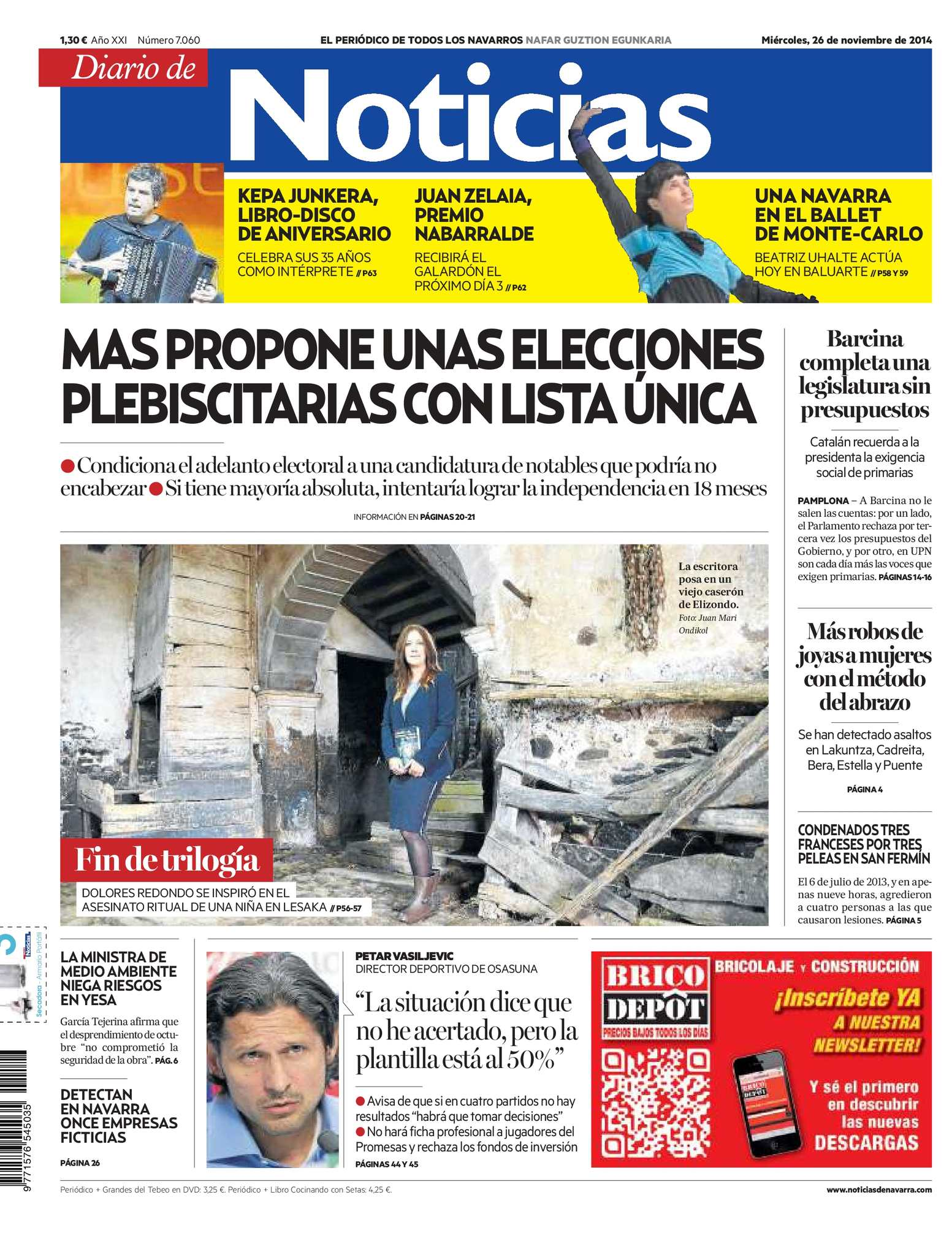 98720e8bd Calaméo - Diario de Noticias 20141126