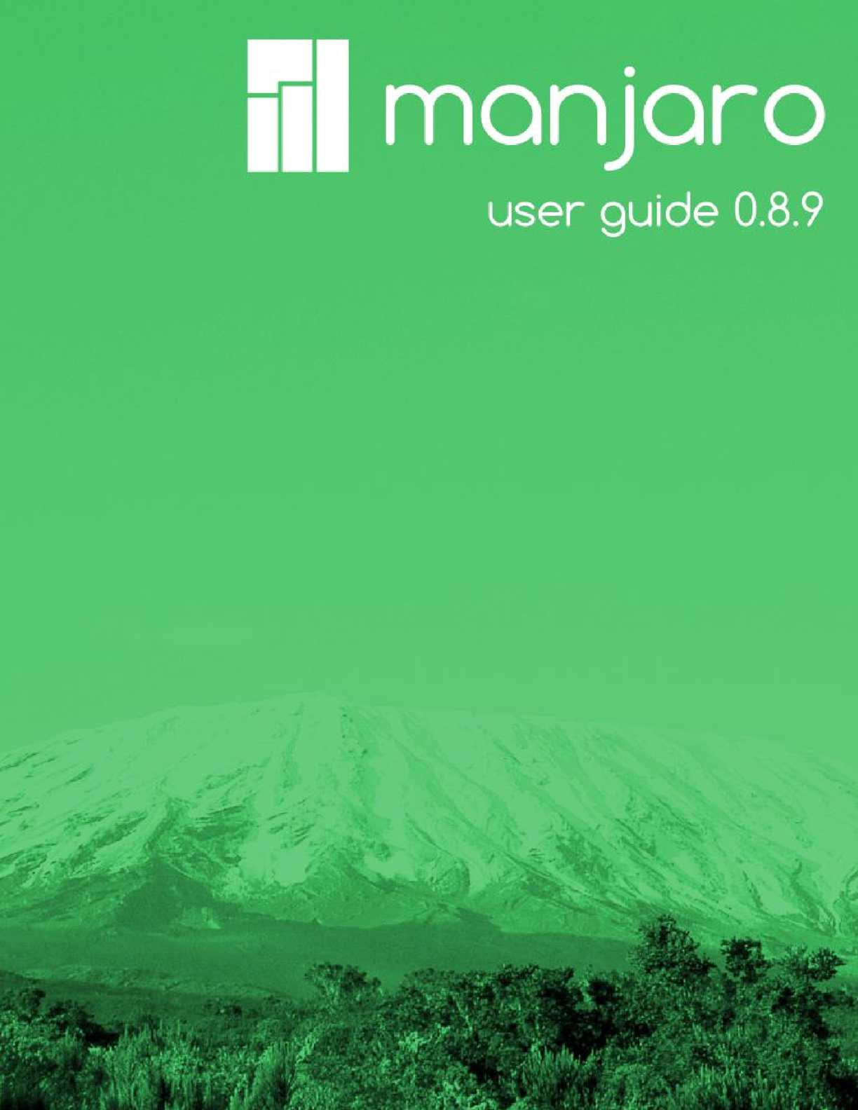 Calaméo - Manjaro 8 10 Linux 3 14 11-2 User Guide  Gnome