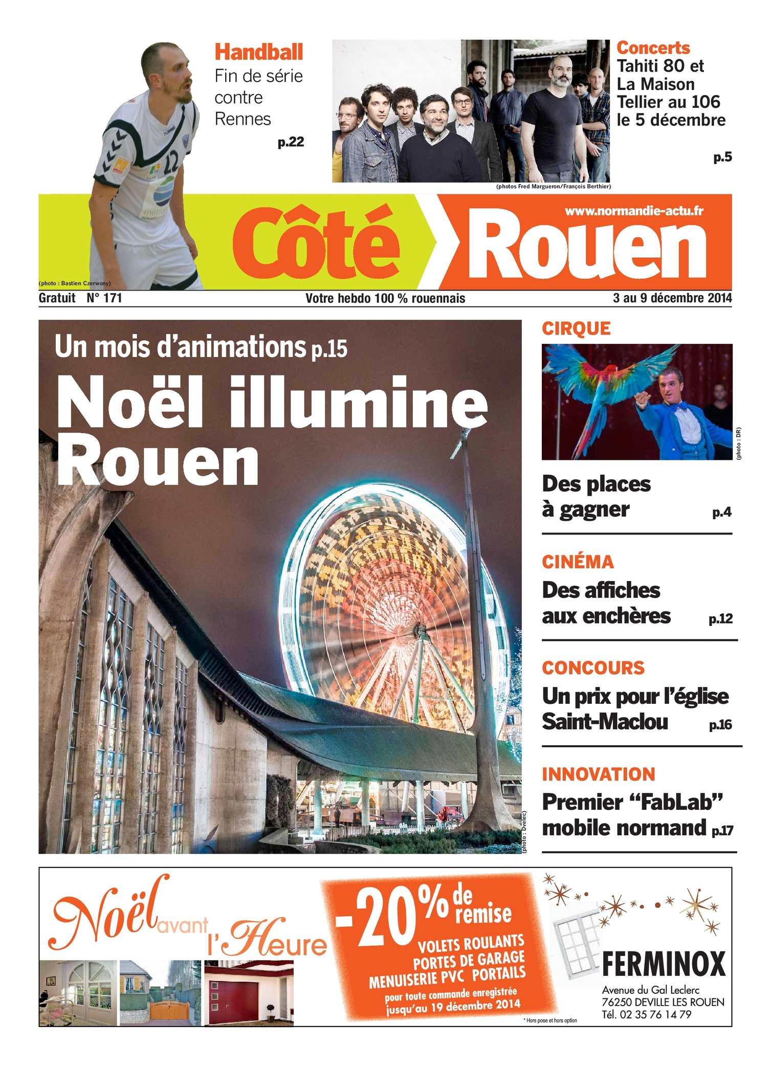 4853b22c3e0 Calaméo - Côté Rouen N°171