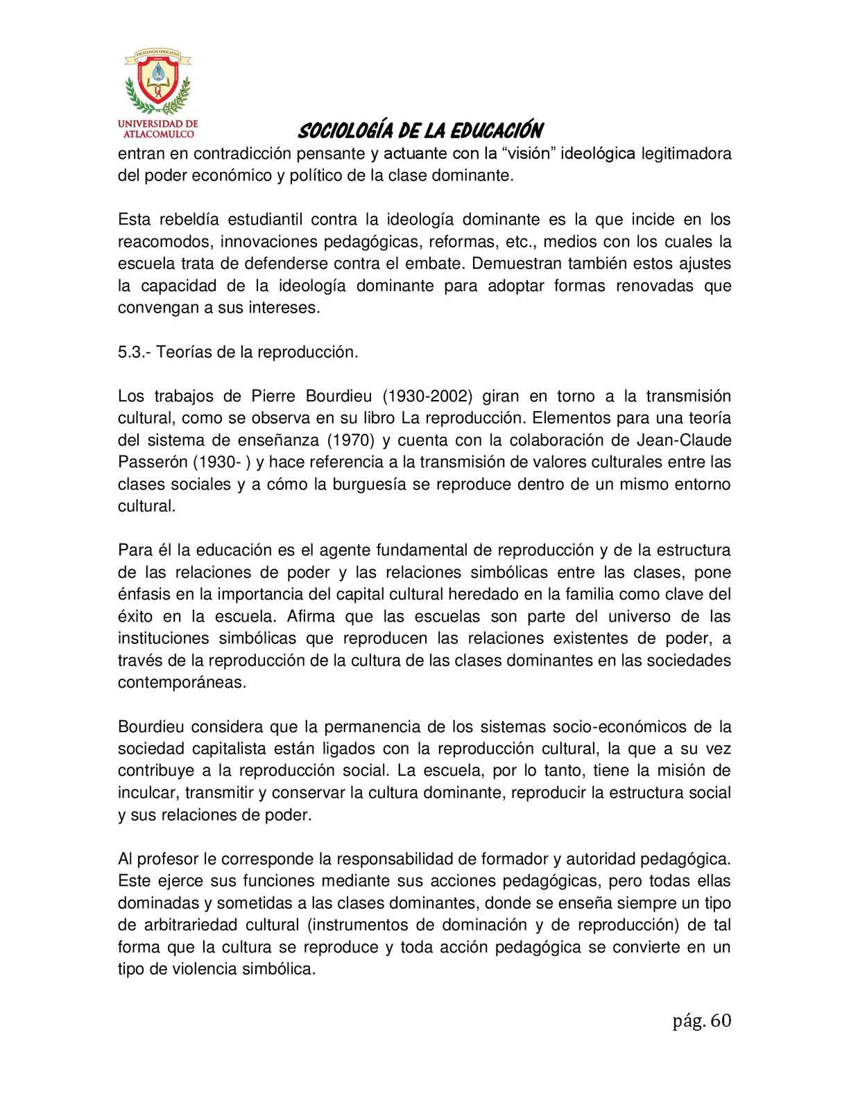 Antología De Sociología De La Educación Calameo Downloader