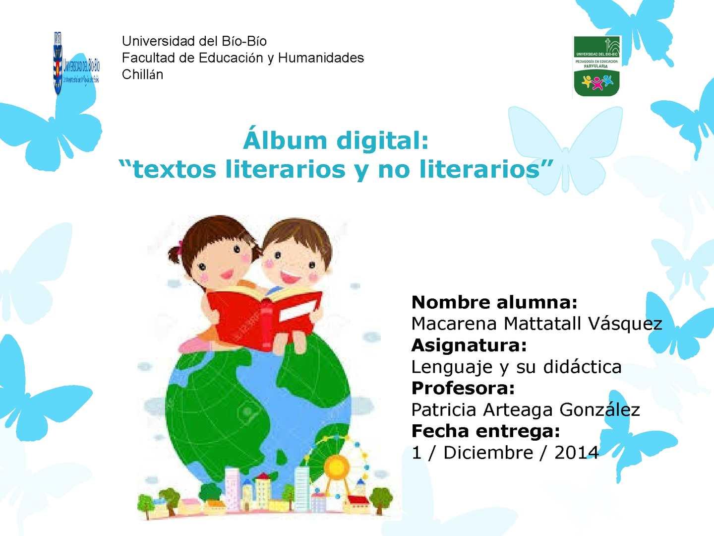 Calaméo Textos Literarios Y No Literarios