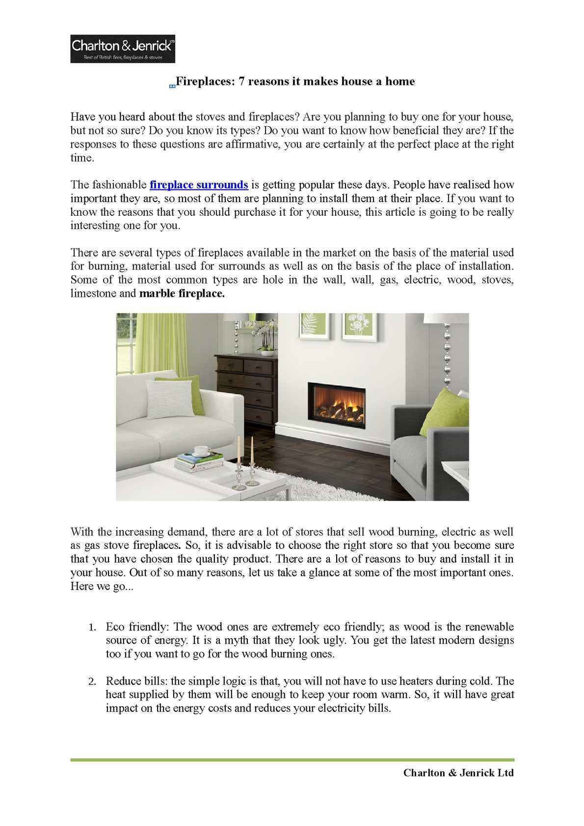 Calameo Fireplaces 7 Reasons It Makes House A Home