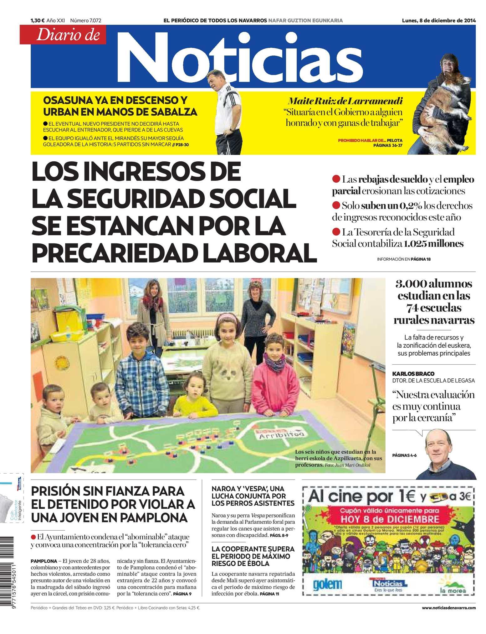 63bac3f427 Calaméo - Diario de Noticias 20141208