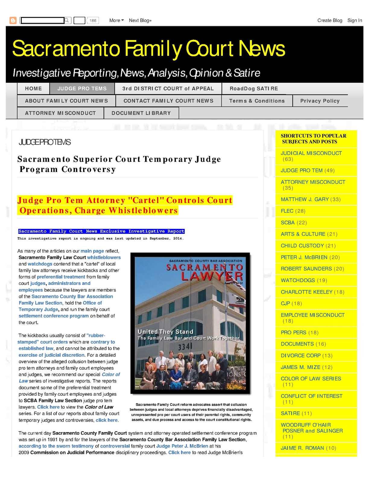 Calaméo - Temporary Judge Racketeering Honest Services Fraud