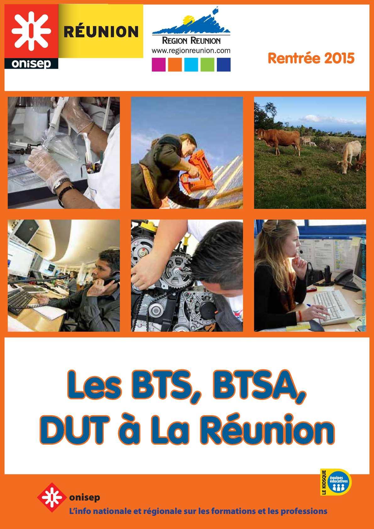 Calaméo - Bts, Btsa, Dut à La Réunion 2015