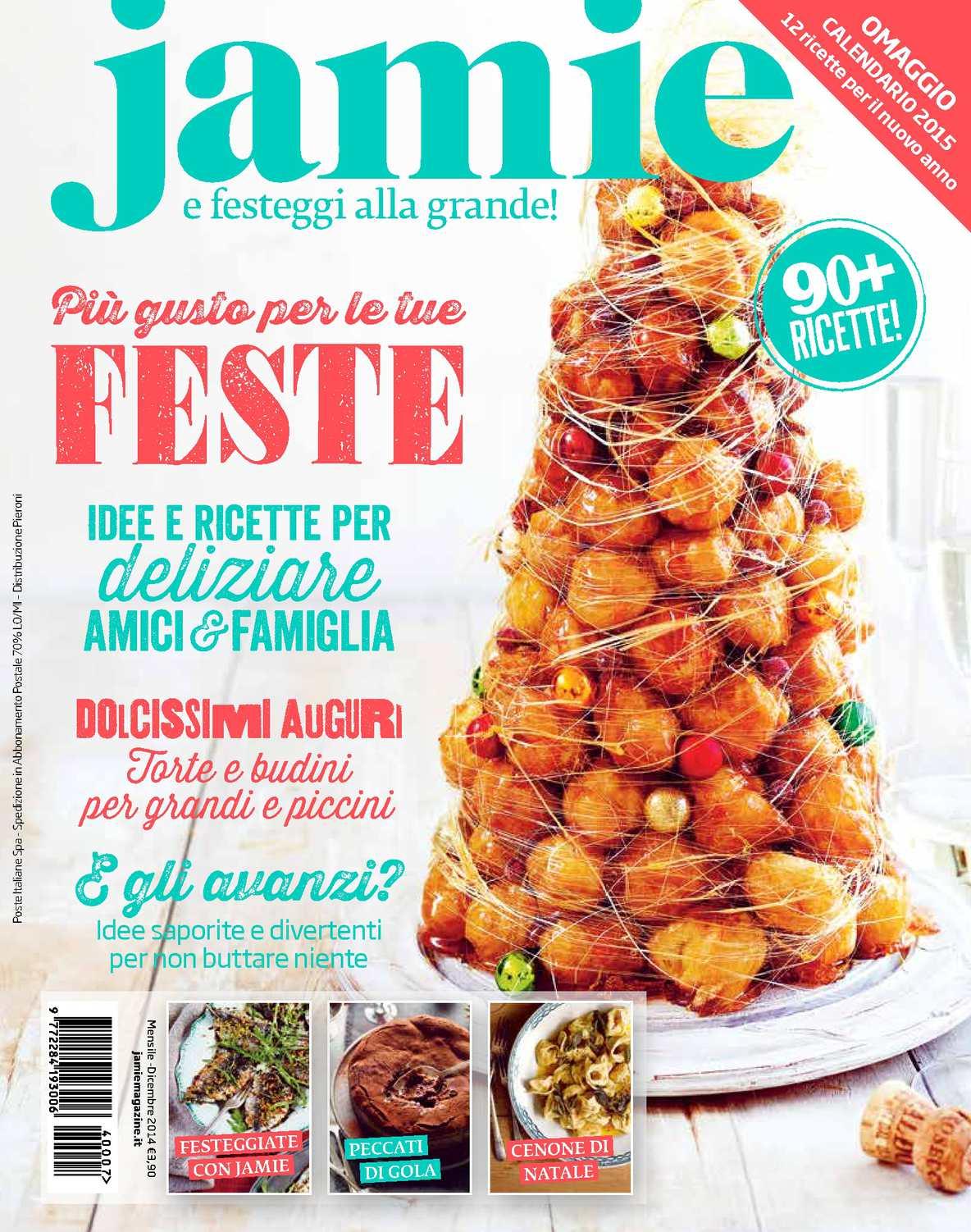 Dolci Natalizi Jamie Oliver.Calameo Festeggia Con Jamie