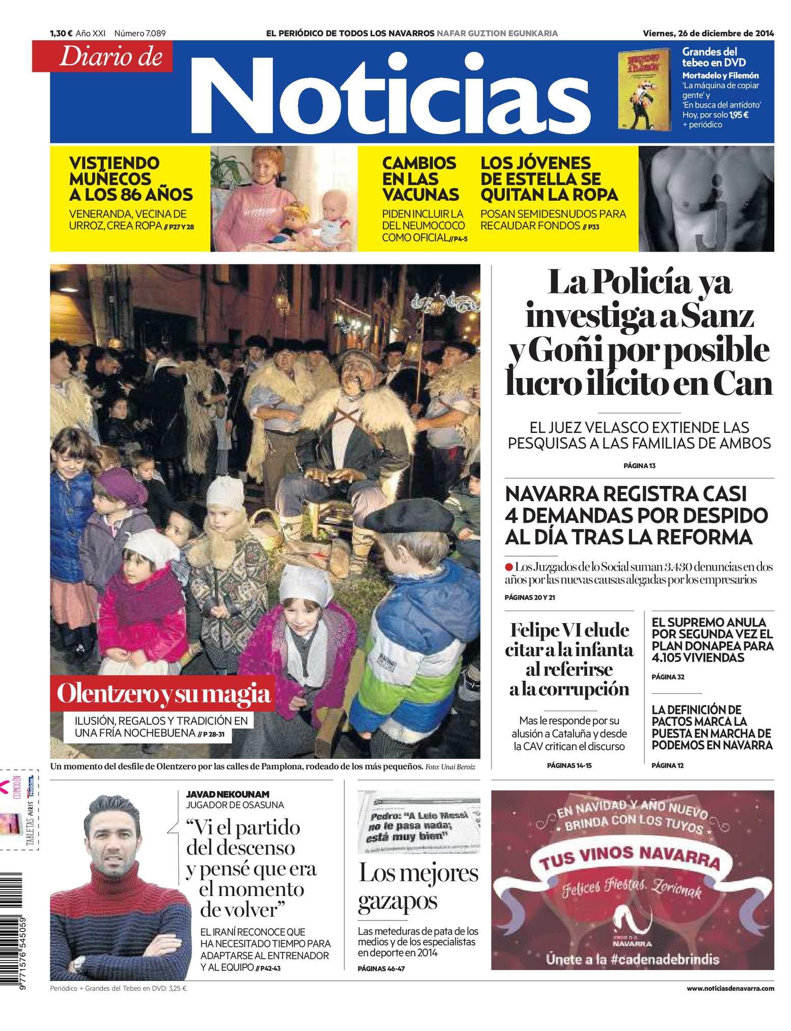 Calaméo Diario De Noticias 20141226