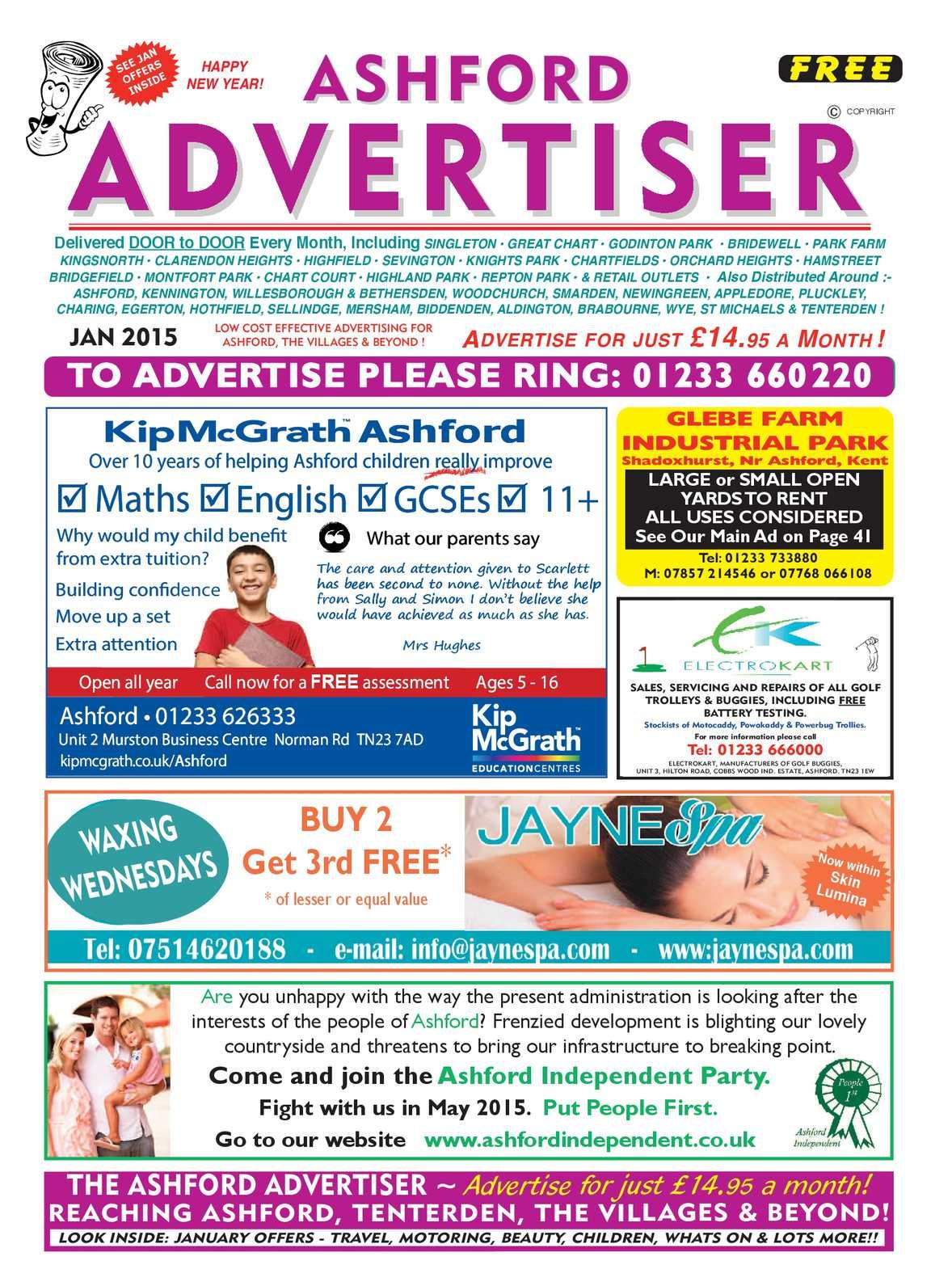 Calaméo - Ashford Advertiser