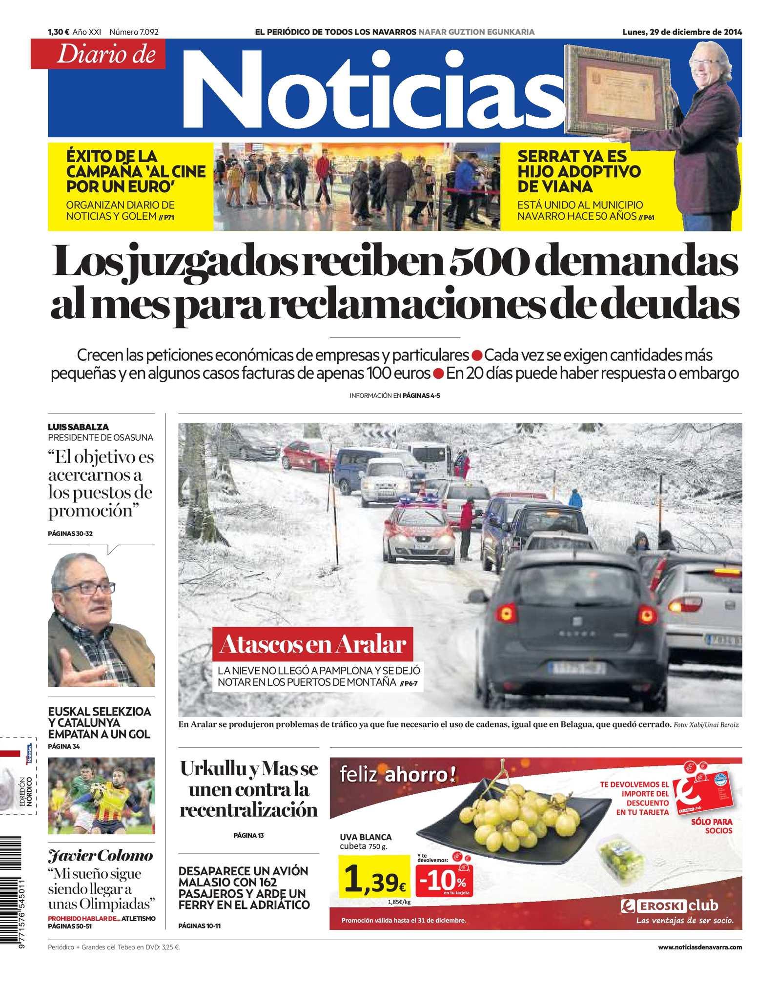 detailed look fc32b 5f6fc Calaméo - Diario de Noticias 20141229