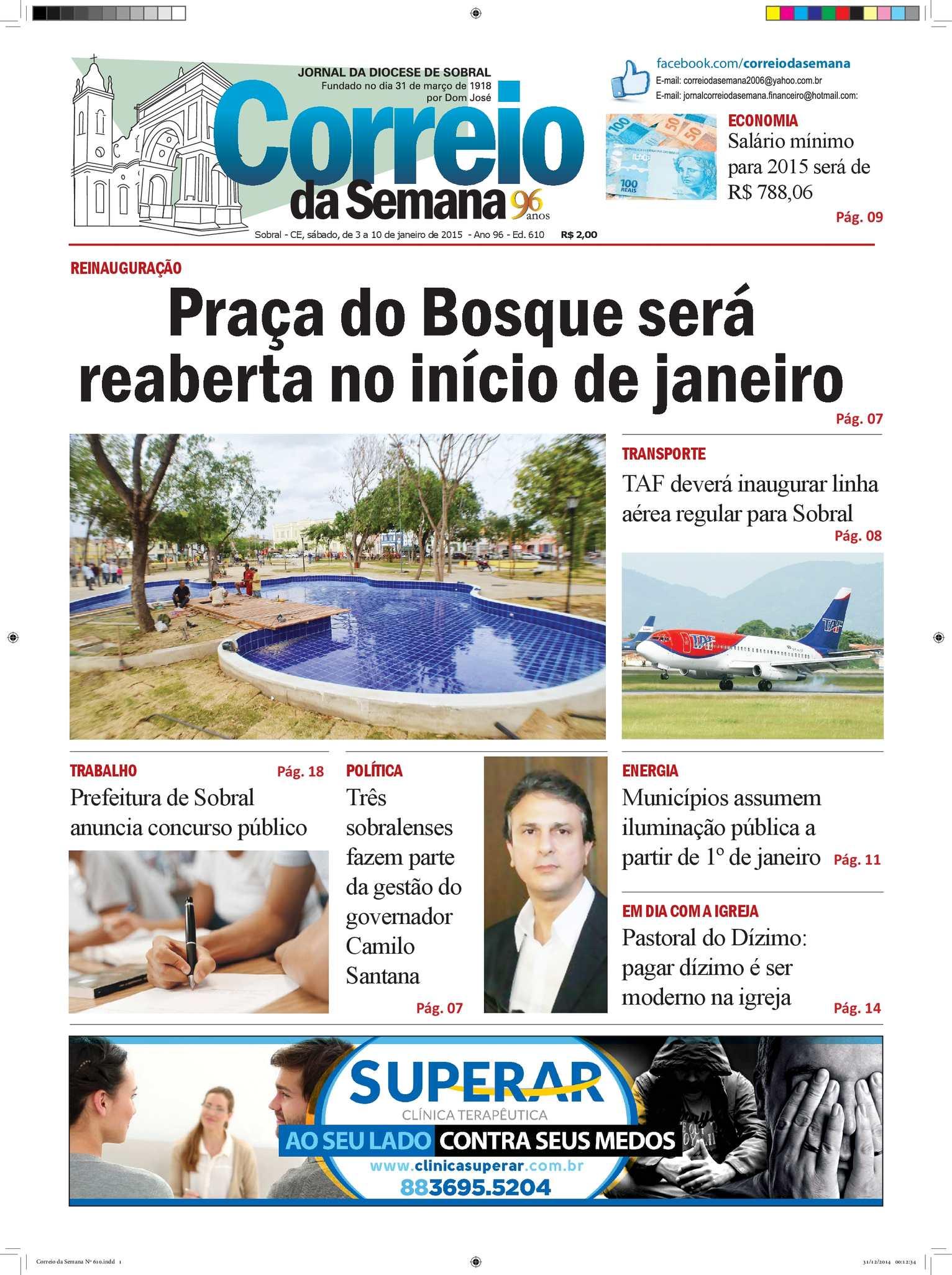 Calaméo - Correio Da Semana Nº 610 7930dddc759a0