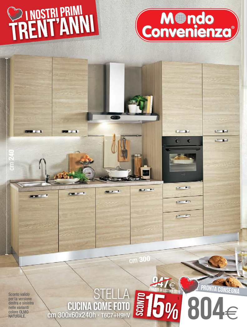 Mondo Convenienza Cucina Stella 330.Calameo Catalogo Mondo Convenienza Cucine 2015