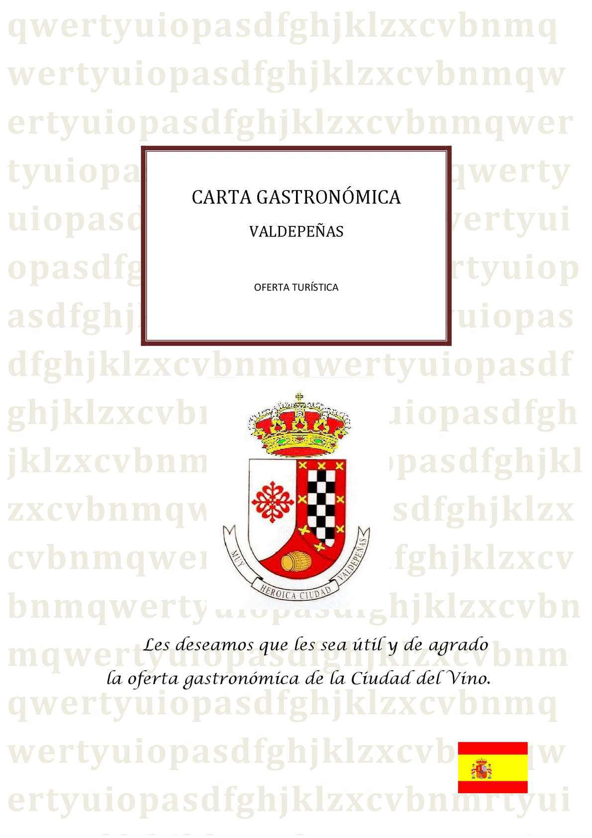 Calaméo Oferta Gastronómica Valdepeñas