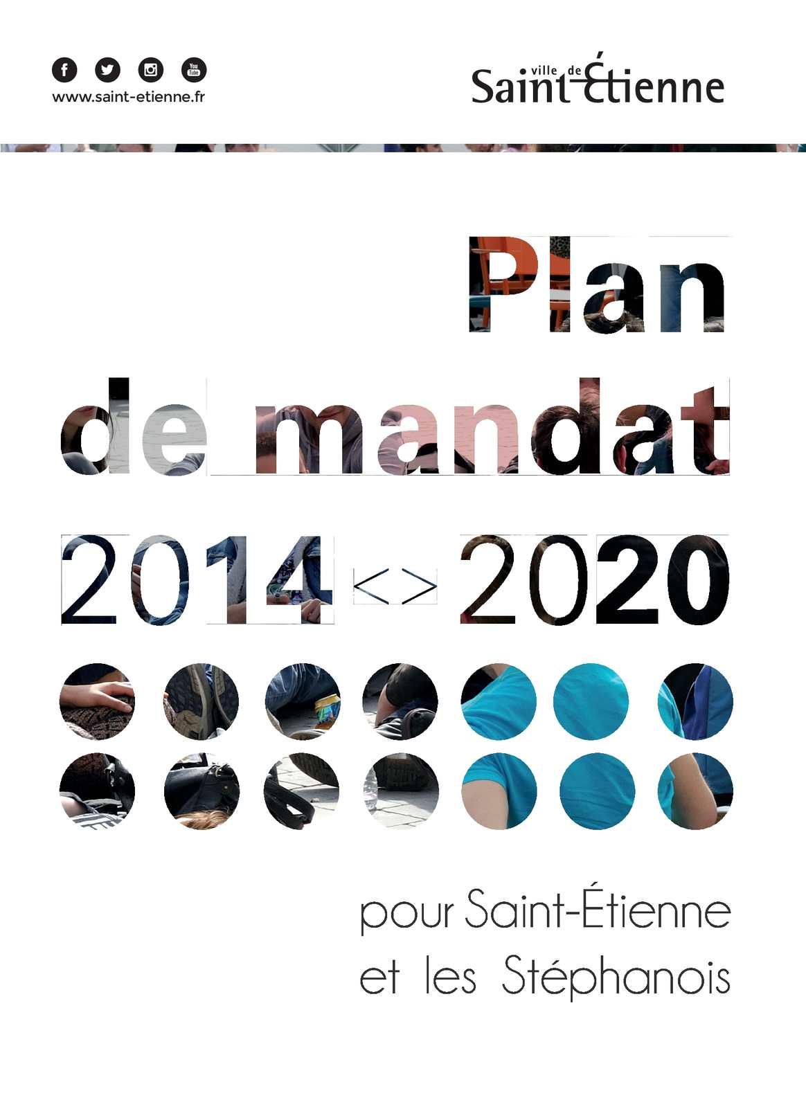 calam o plan de mandat 2014 2020 de la ville de saint tienne. Black Bedroom Furniture Sets. Home Design Ideas