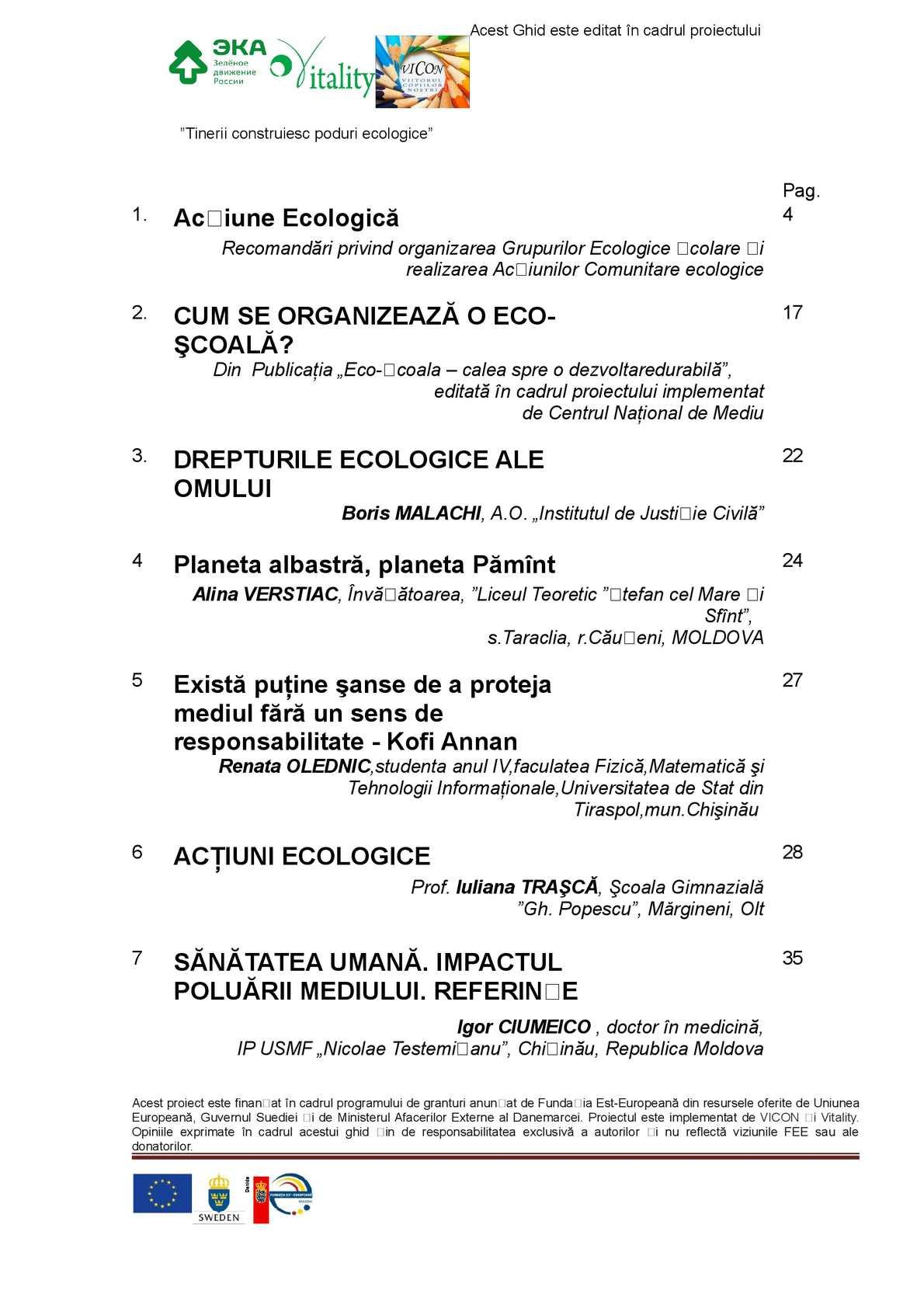 OPINIE/ Dreptul la un mediu sănătos și sigur în contextul Dezvoltării Durabile - Ecopresa