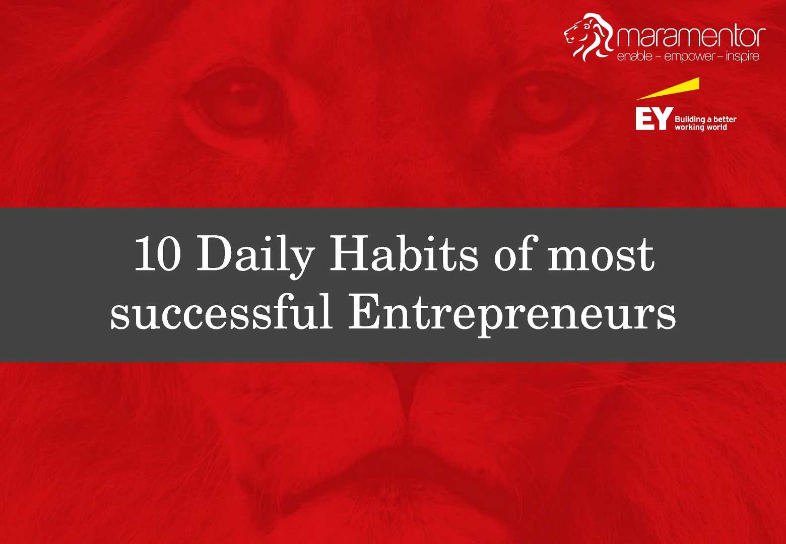 10 Daily Habits of the Most Successful Entrepreneurs