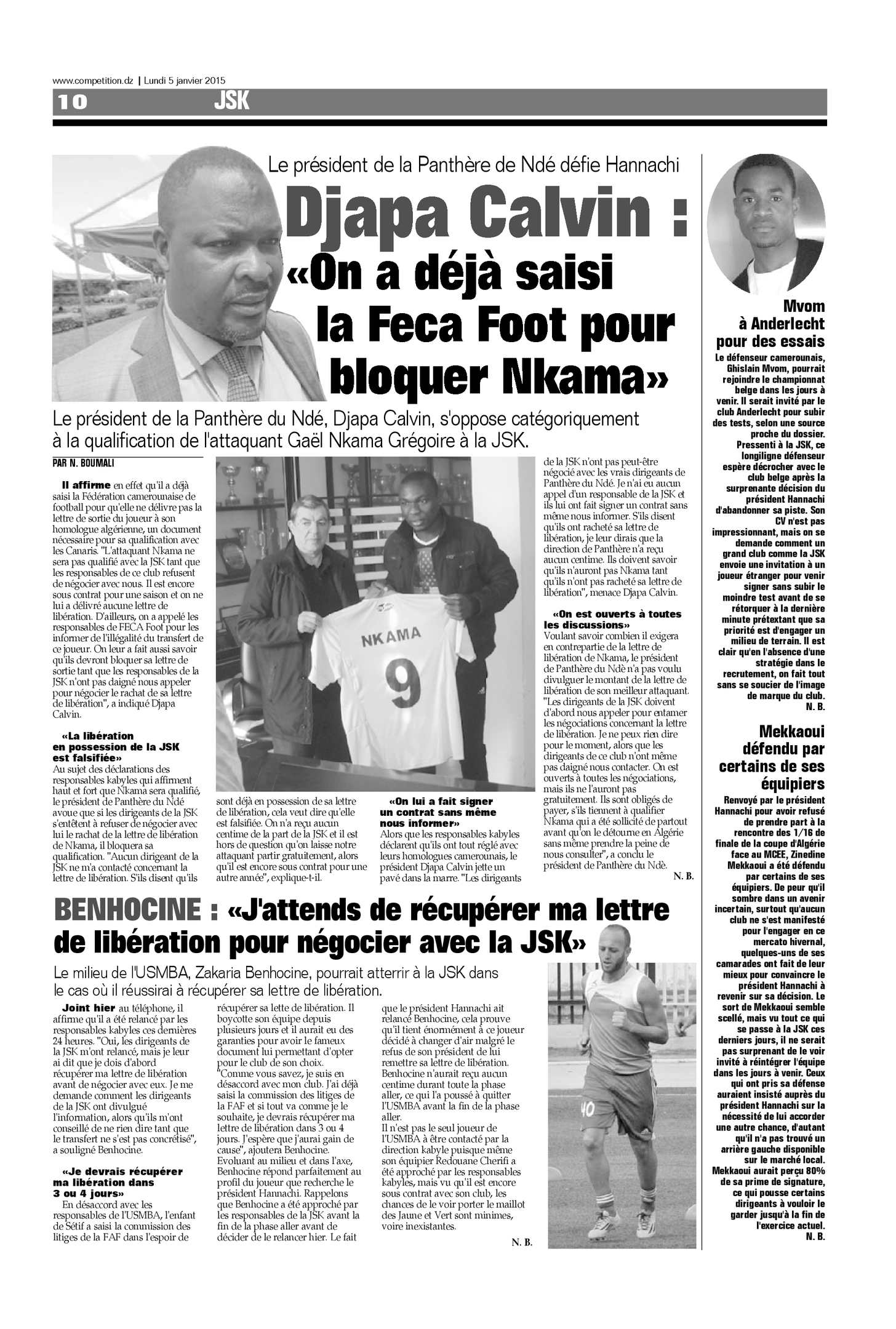 LE DORAN DZ GRATUITEMENT JOURNAL QUOTIDIEN TÉLÉCHARGER