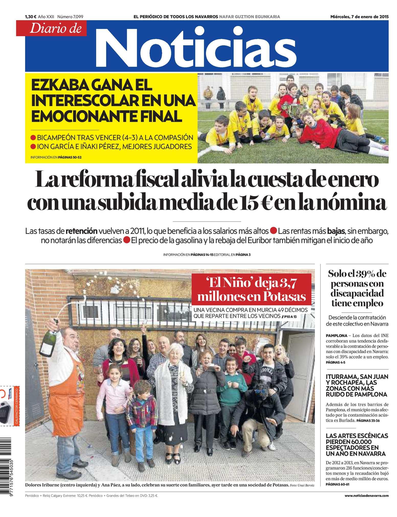 reputable site d224a 4af2b Calaméo - Diario de Noticias 20150107