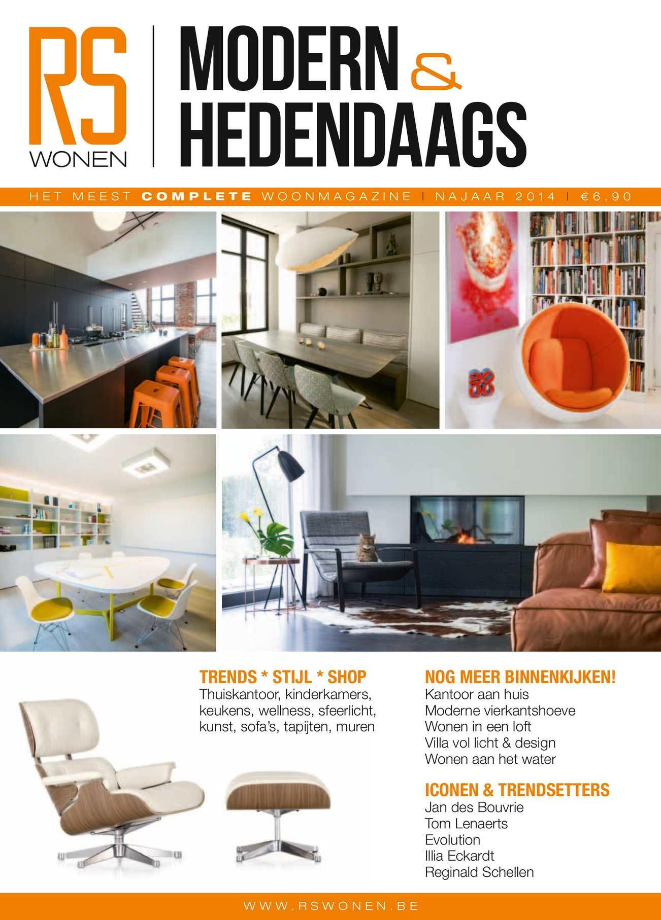 Calameo Rs Wonen Modern Hedendaags Nj2014