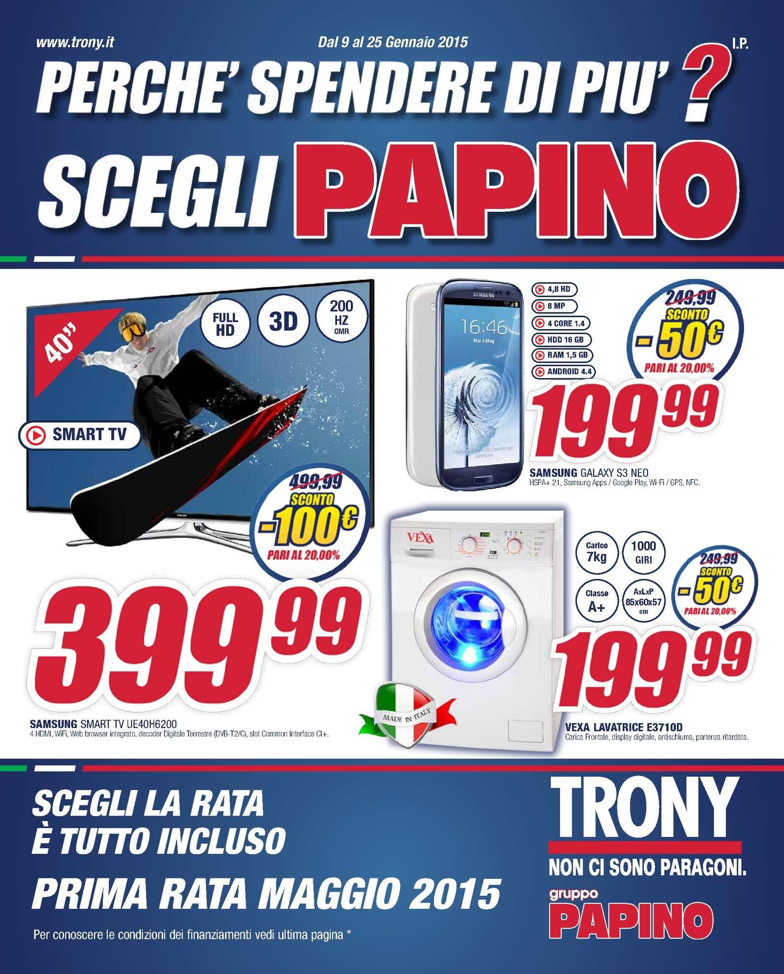 Scaldasonno Imetec Prezzo Trony.Calameo Volantino Trony Papino 9 1 Al 25 01 2015