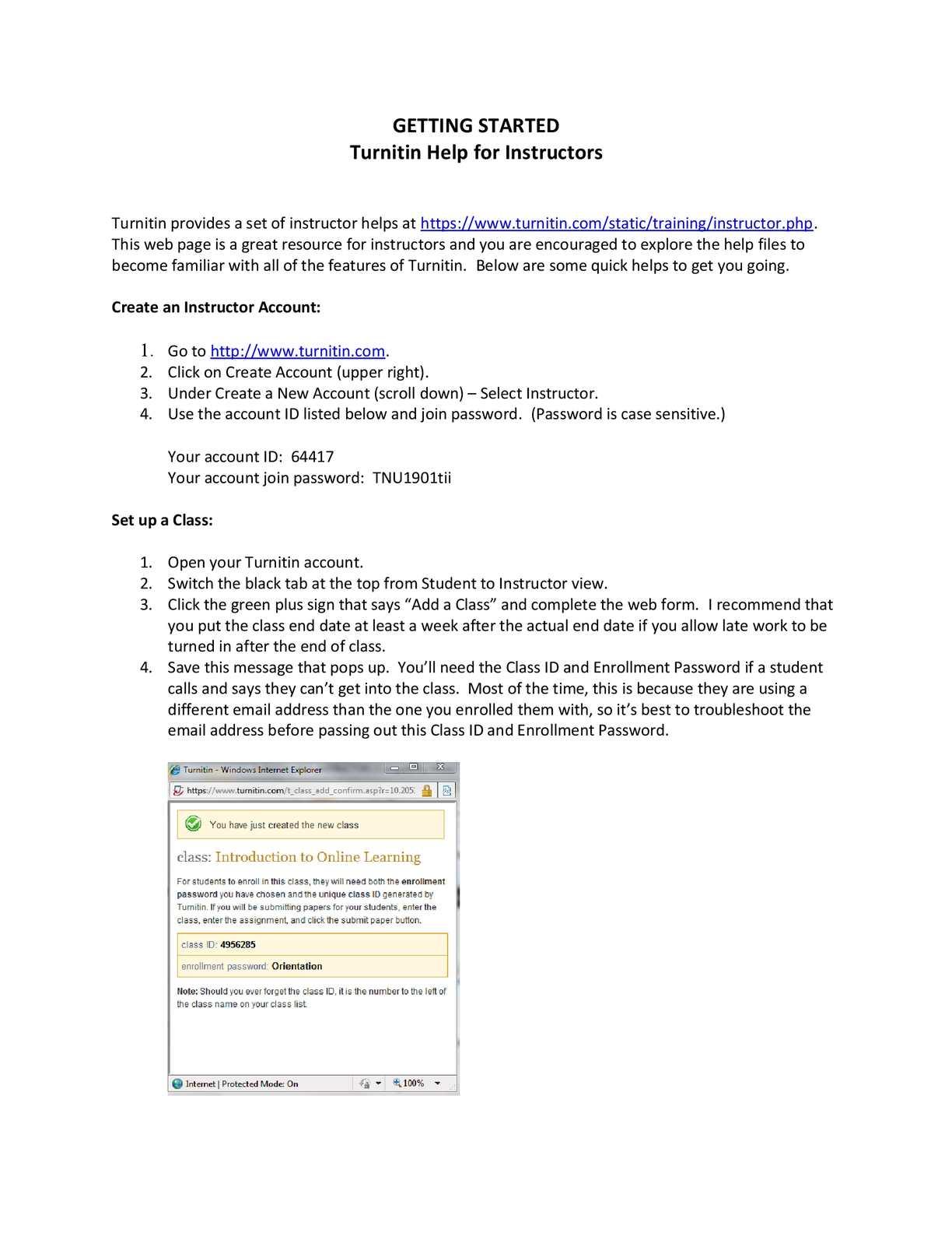 Calaméo - Turnitin Help Instructors
