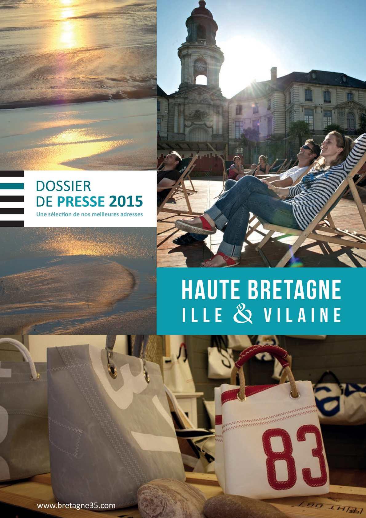 Sophie Pinard La Gacilly calaméo - dossier de presse haute bretagne 2015