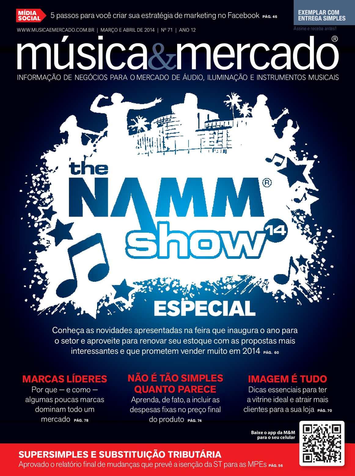 848e211ea Calaméo -  71 MARÇO ABRIL 2014 - Música   Mercado em Português