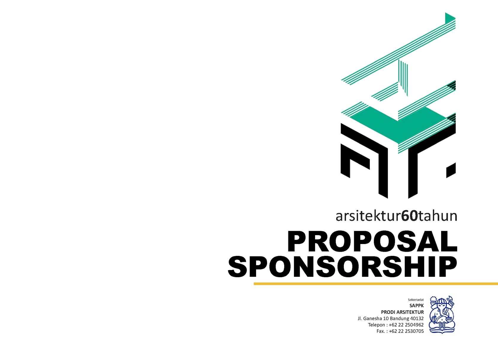 Calaméo Ar60tahun Proposal Sponsorship