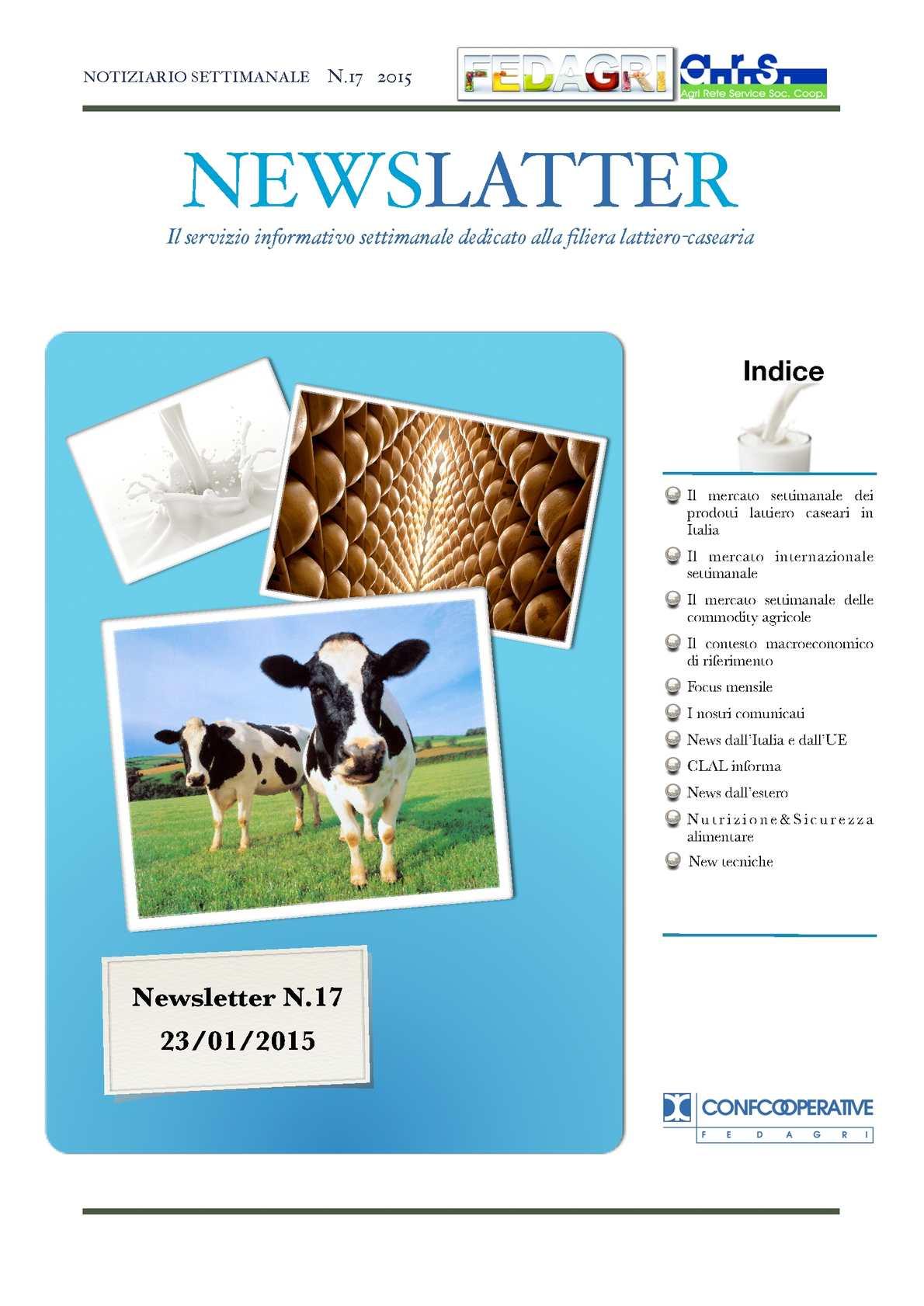 63c587df54 Calaméo - 17. Newslatter Notiziario Fedagri 2015