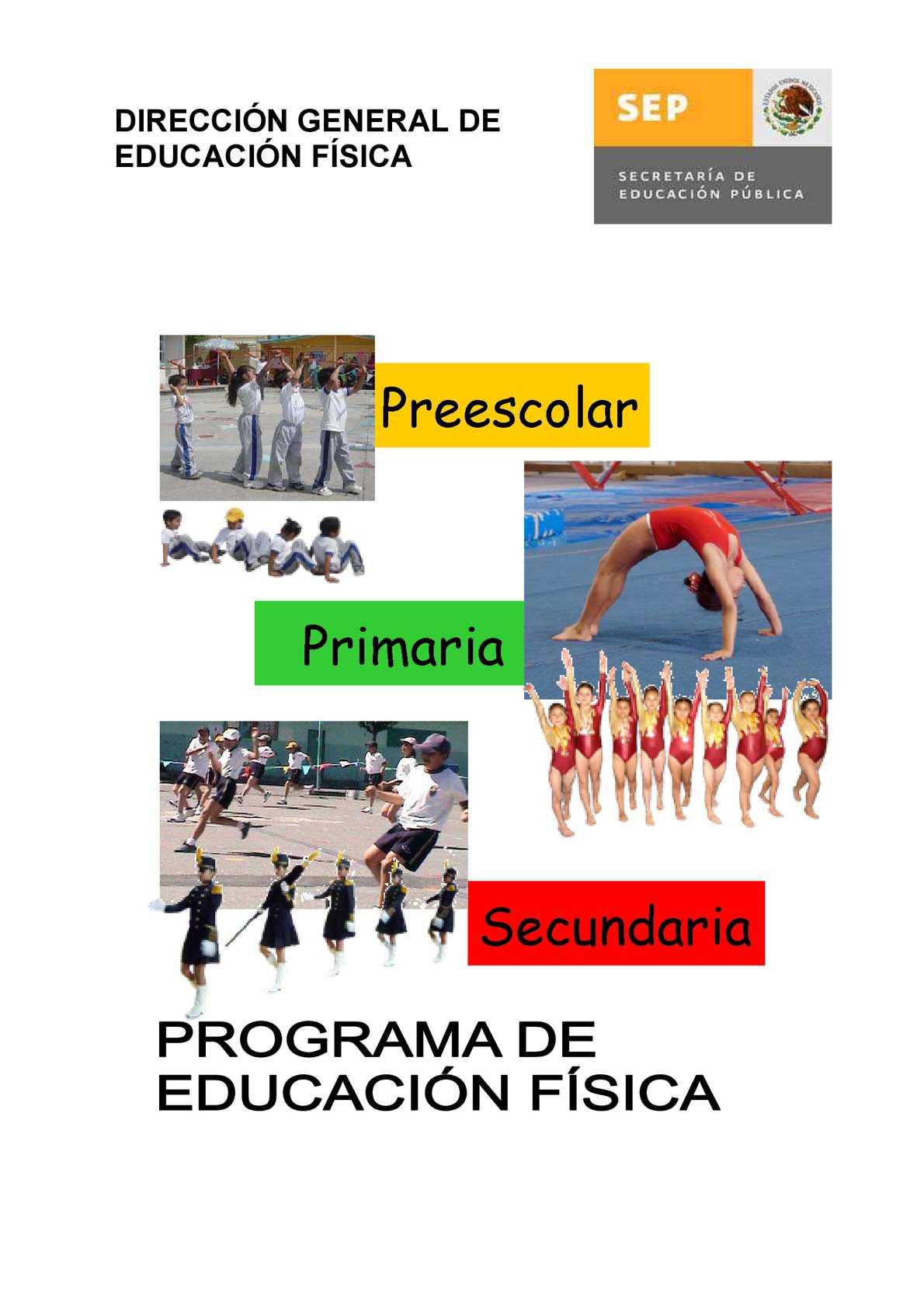 Calaméo Programa De Educacion Fisica