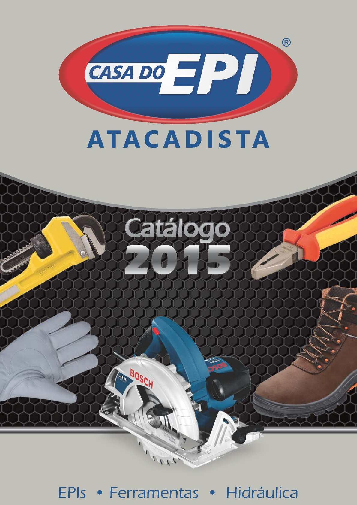 2c84efddc1784 Calaméo - Catálogo de Produtos Casa do EPI 2015