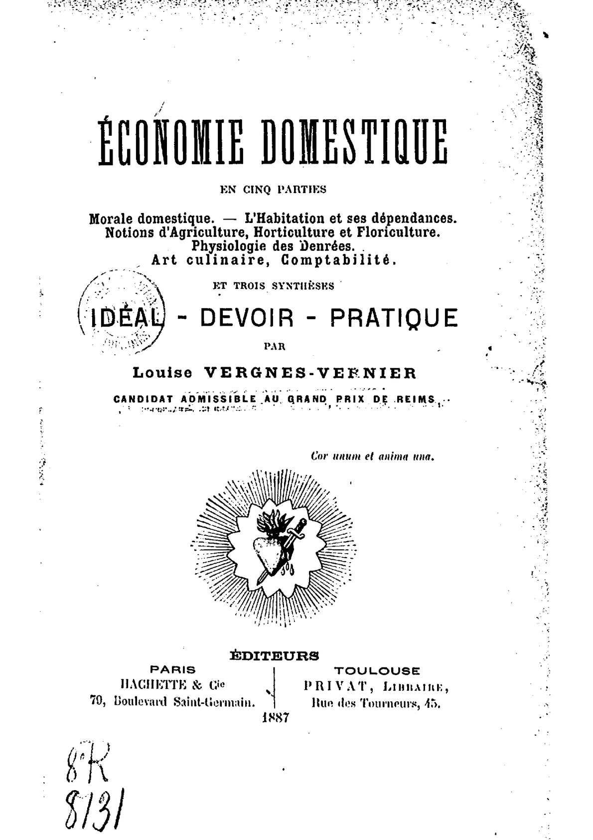 0f85c5d998ff Calaméo - Economie Domestique - 1887