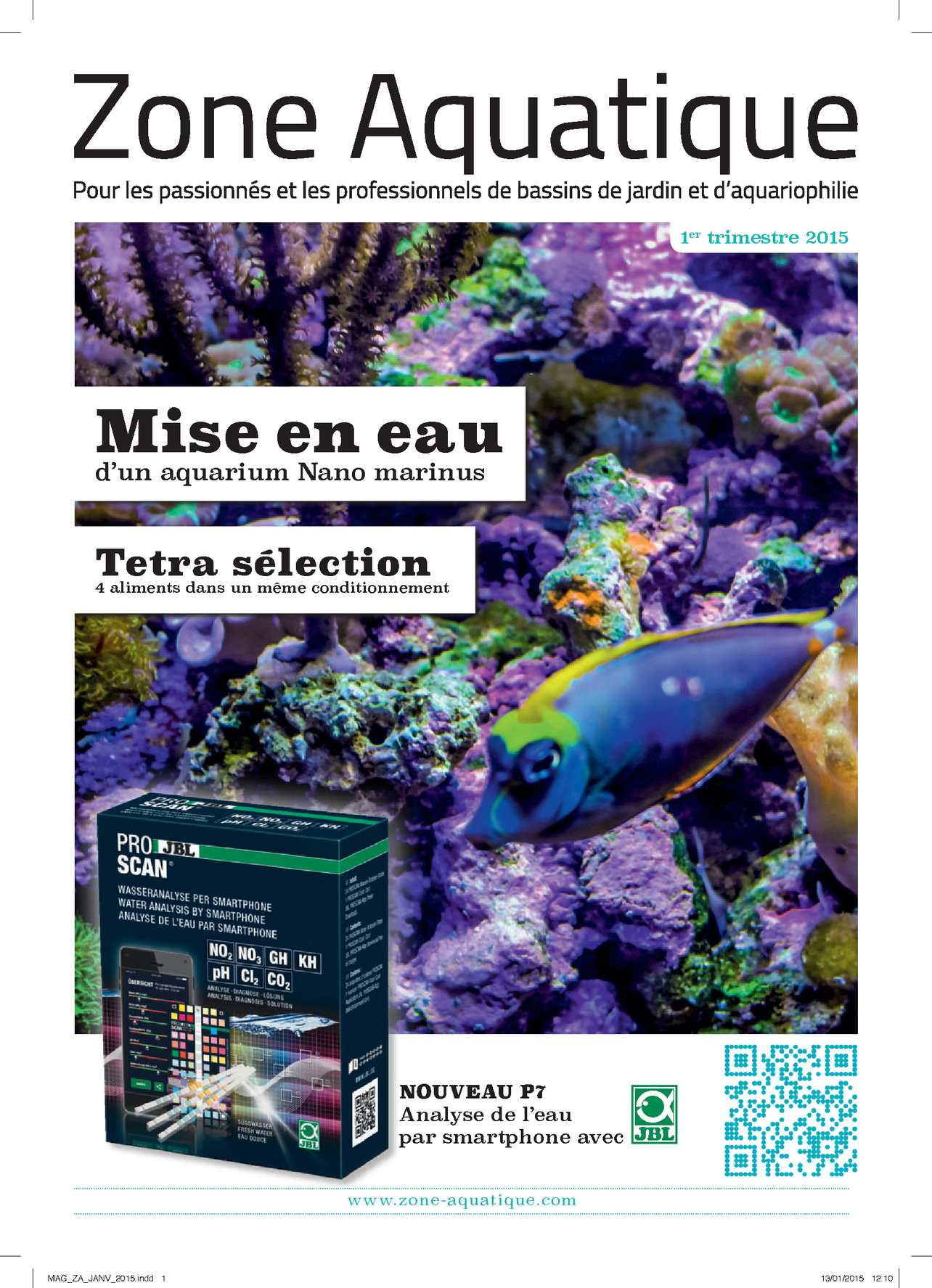 Magazine Zone Aquatique - 1er trimestre 2015