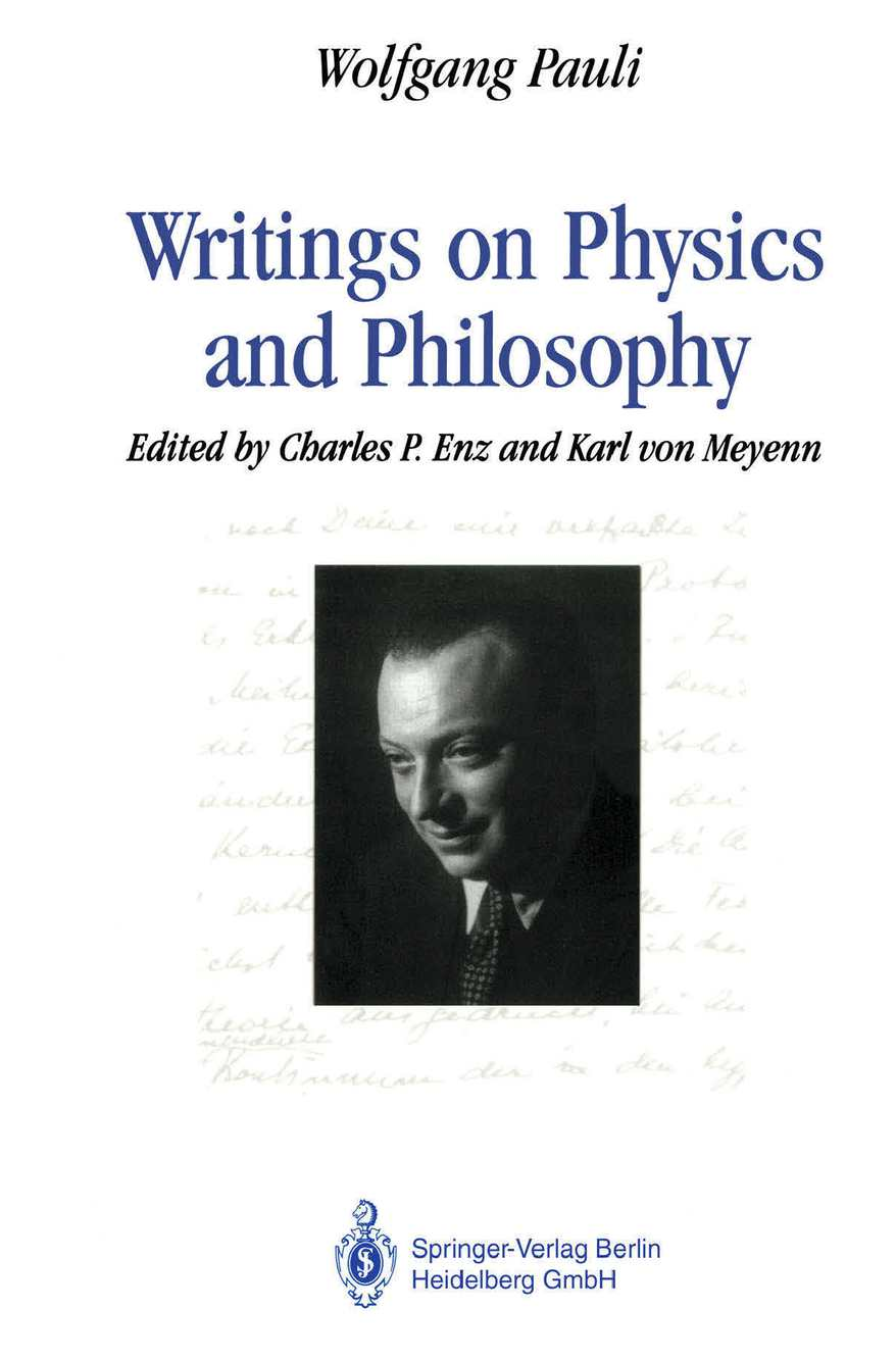 1c37f63ffb65b Calaméo - Writings On Physics And Philosophy - Wolfgang Pauli
