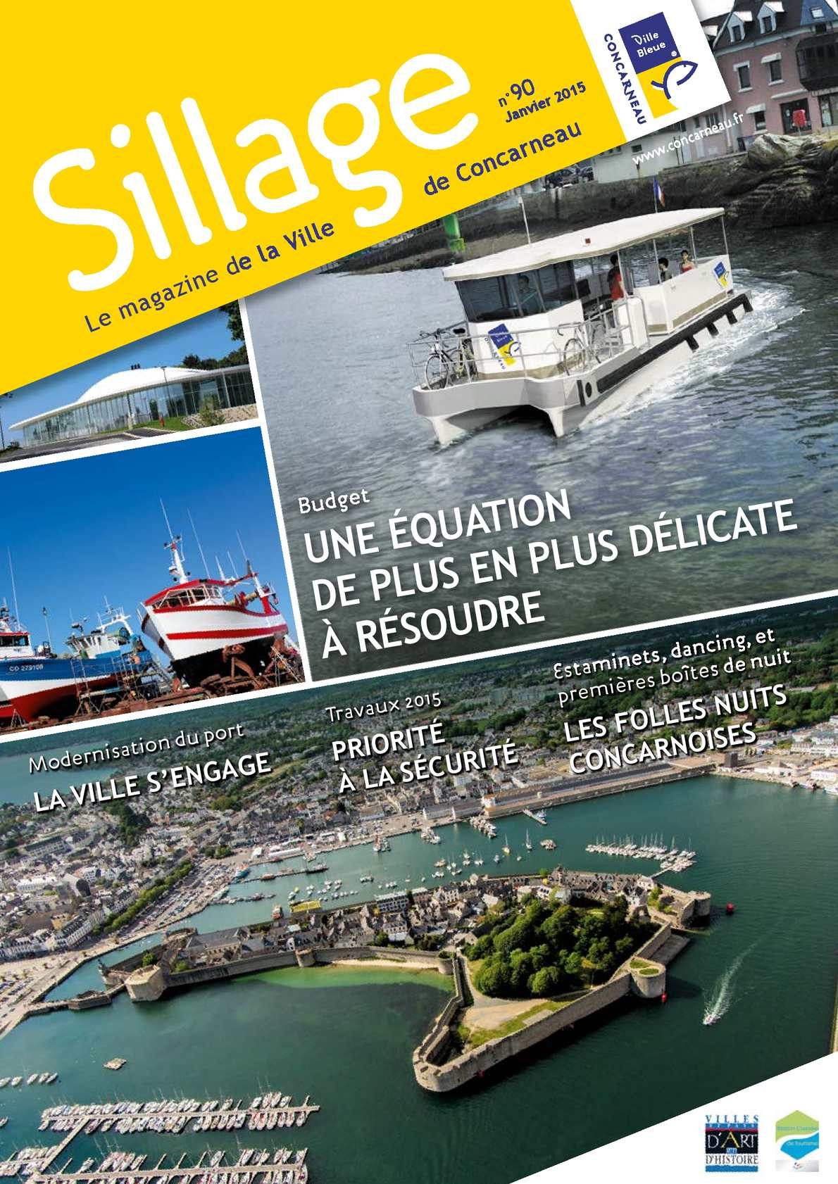 536f233393 Calaméo - Magazine de la Ville de Concarneau n°90 - Janvier 2015