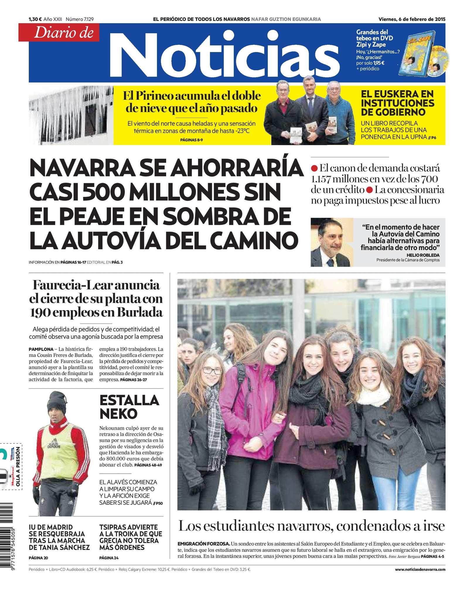 Noticias Calaméo 20150206 Diario De Calaméo Diario Calaméo 20150206 De Noticias jR534ALq