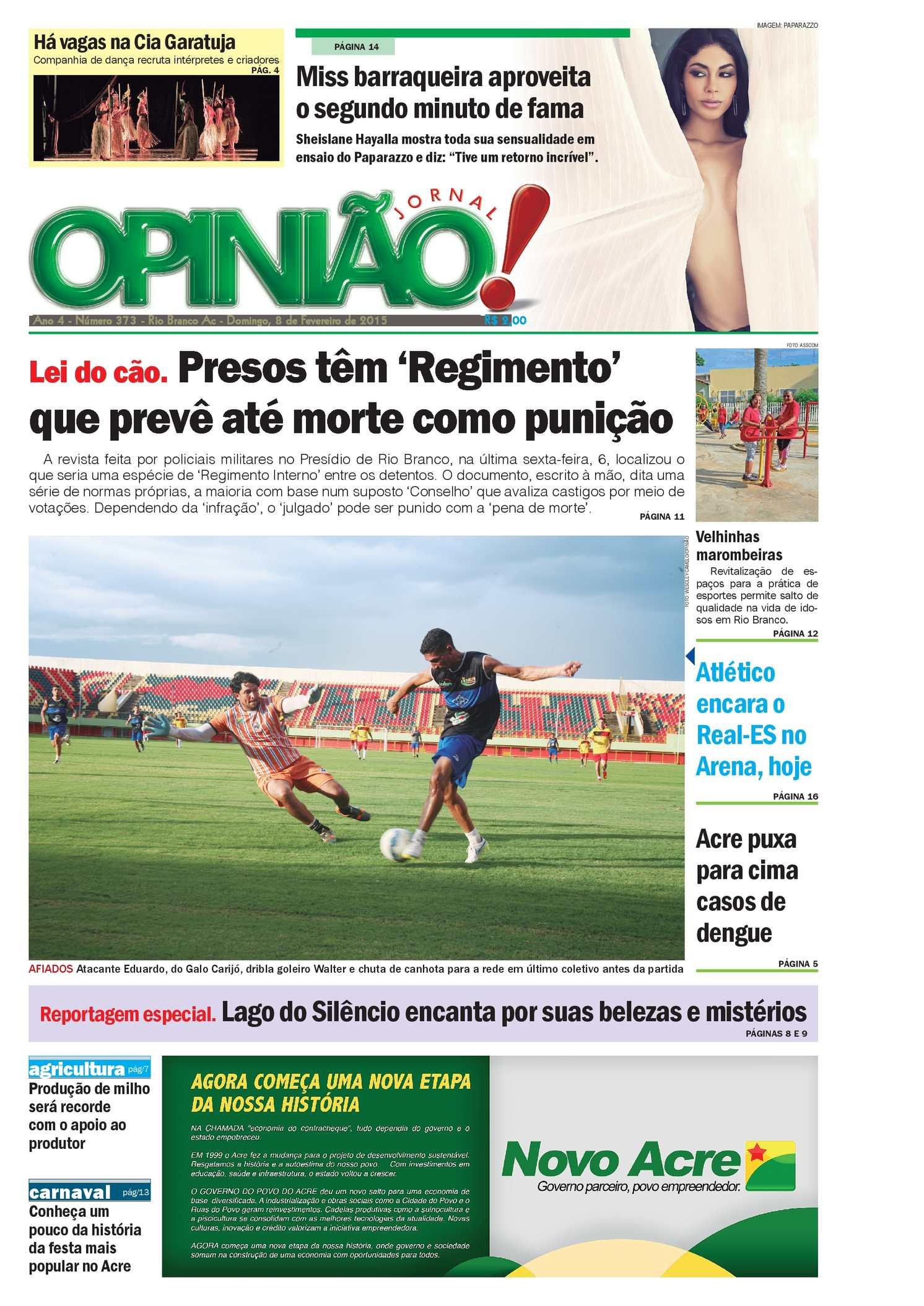5d717c4b5 Calaméo - Jornal Opinião - Edição 373