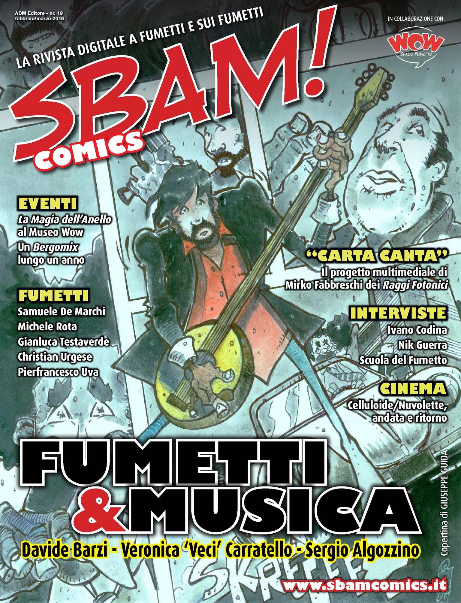 Calaméo Sbam! Comics nr19