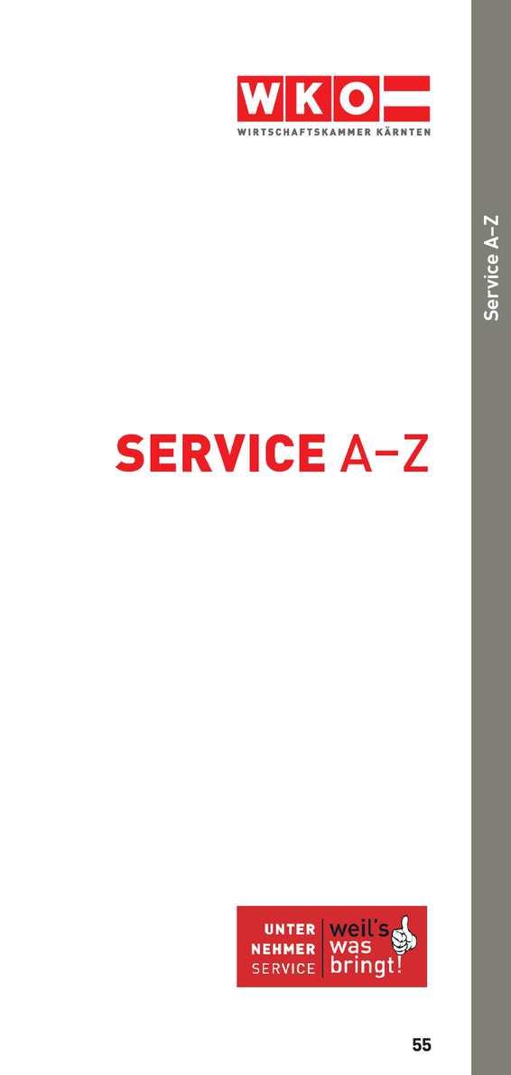 Calaméo Service A Z