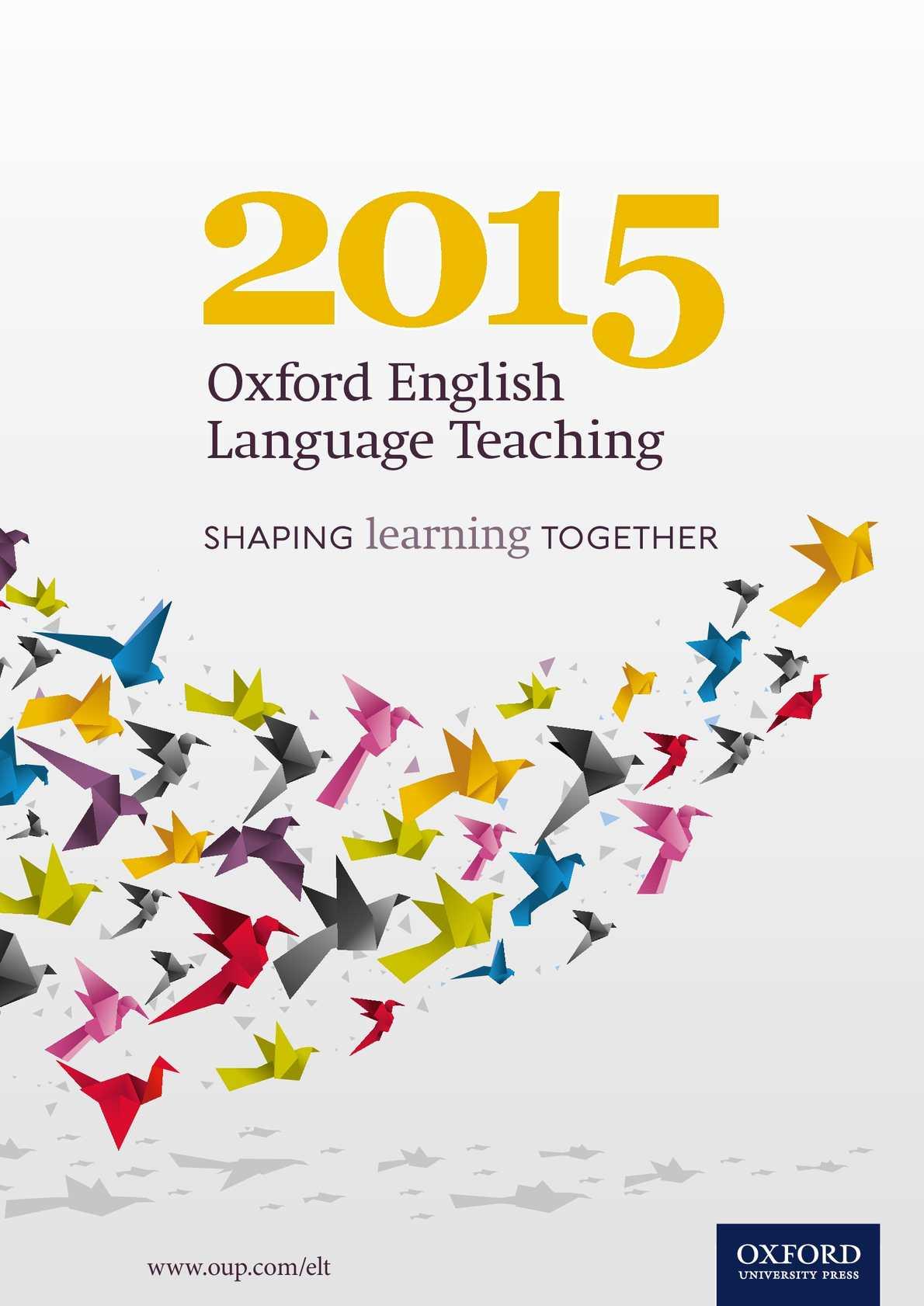 Calaméo - Catálogo ELT Oxford 2015