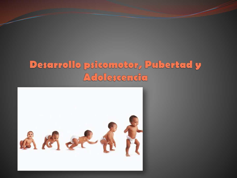 2 08. Desarrollo Psicomotor Ppt