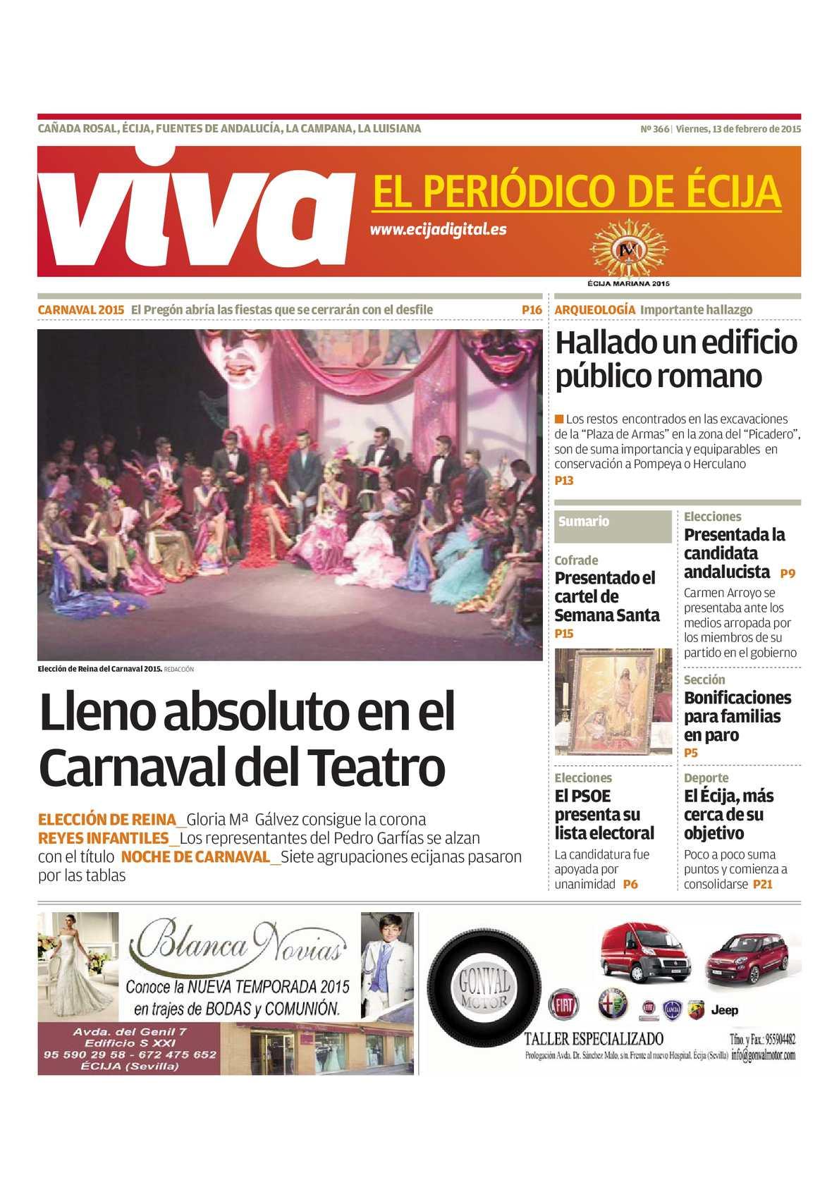 Febrero Periódico Viva El Calaméo Écija De mn0OvNy8w